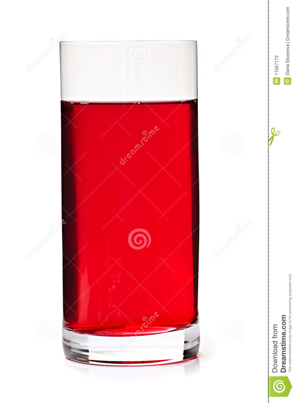 Cranberry Juice In Glass Stock Photos Image 11567173