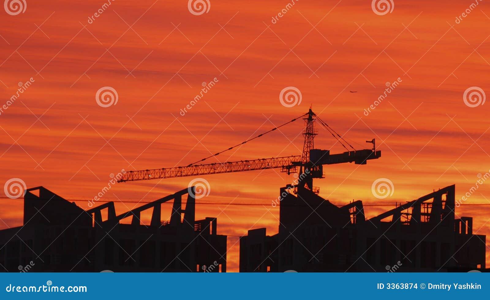 Crane build construction