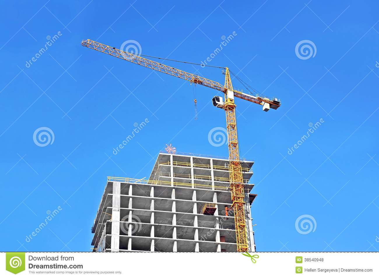 Crane and construction site royalty free stock photos for Images of building sites