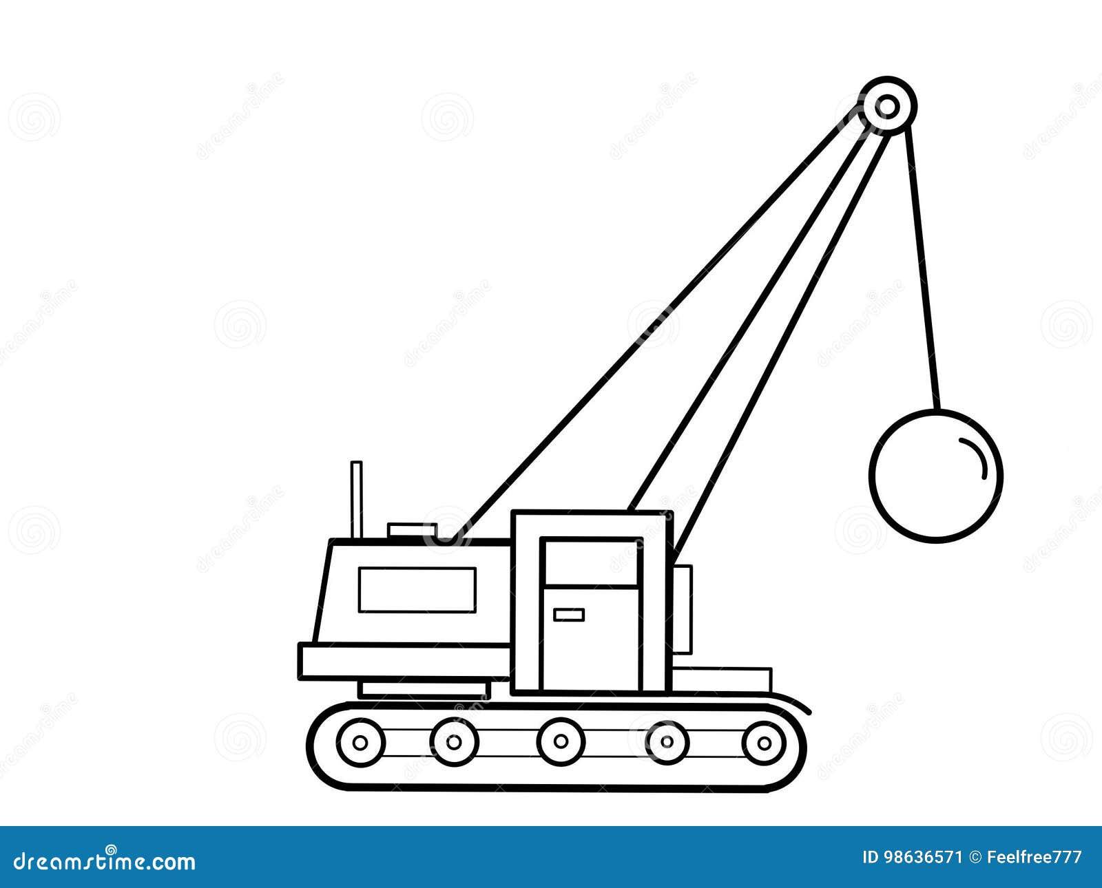 coloring tractor cartoon cartoon vector