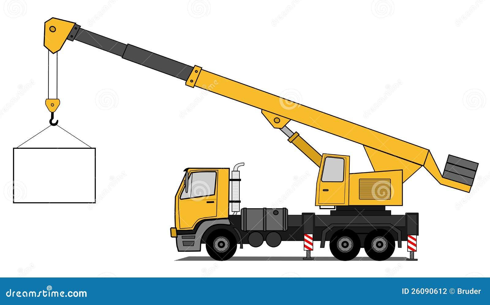 Crane Truck Stock Photography - Image: 26090612