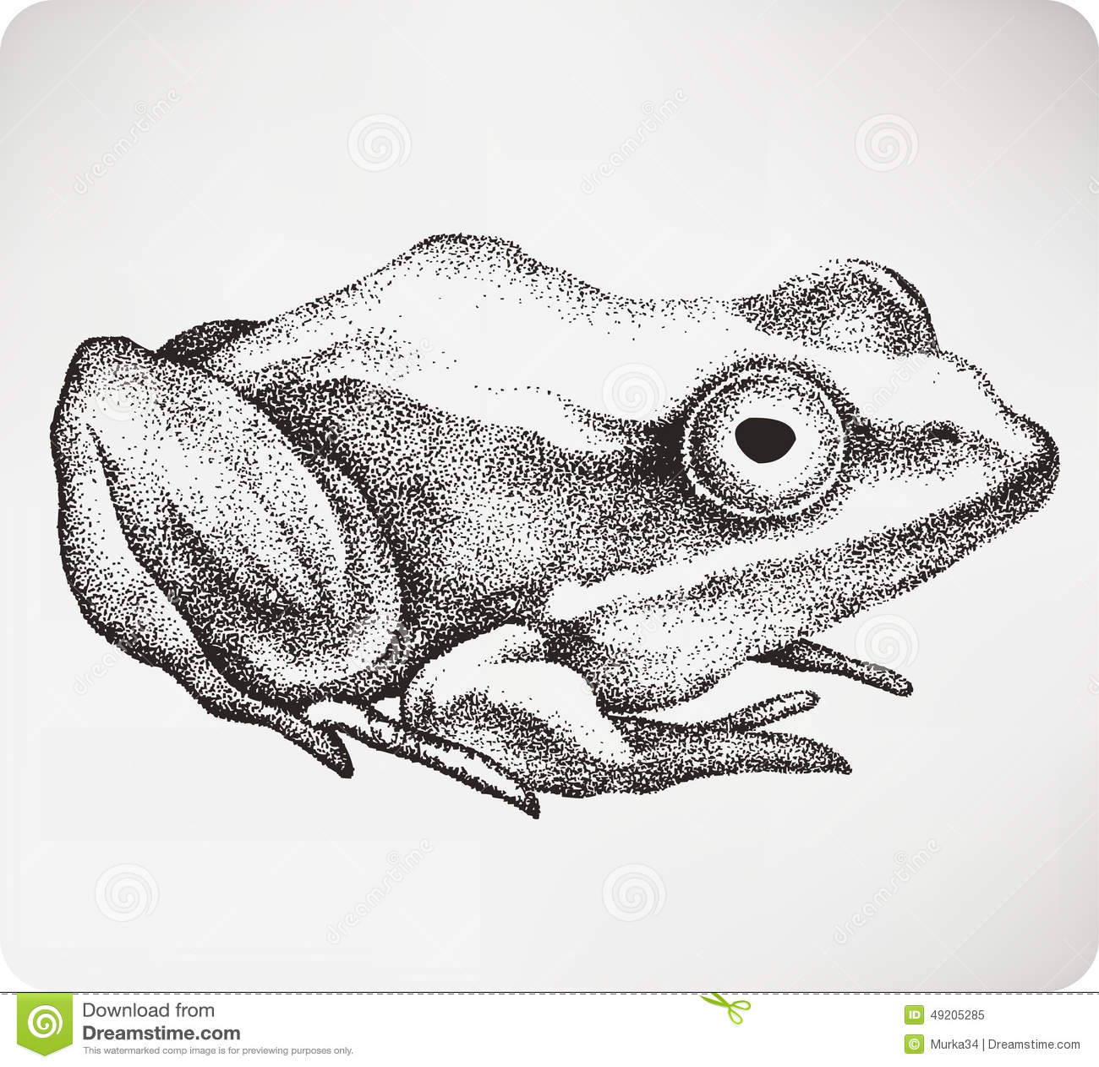 Crapaud animal main dessin illustration de vecteur jpg illustration de vecteur image 49205285 - Dessin crapaud ...