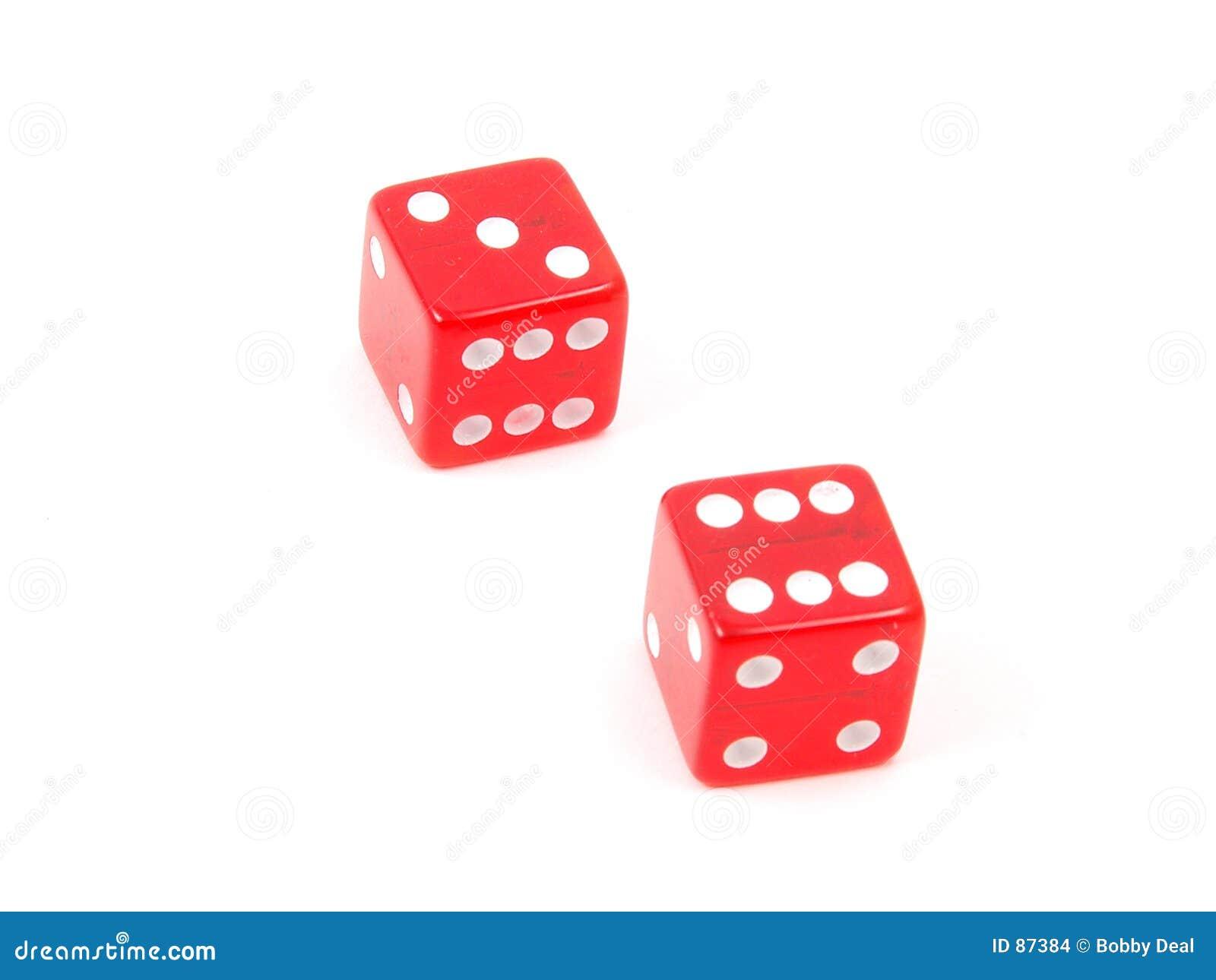 Hard way dice sets craps