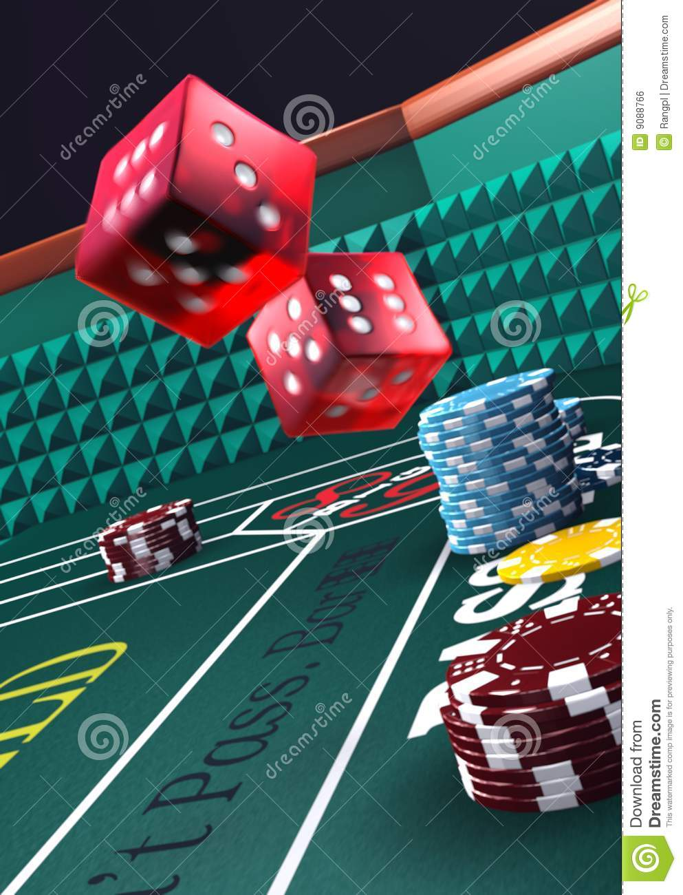 Odds of hitting field in craps
