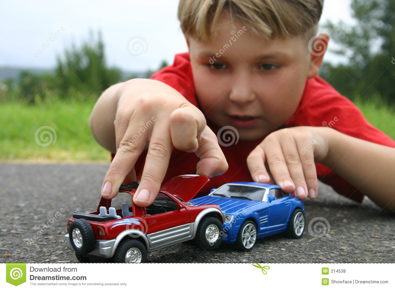 Toddler Toys Photography : Crash stock photo image of recreation child