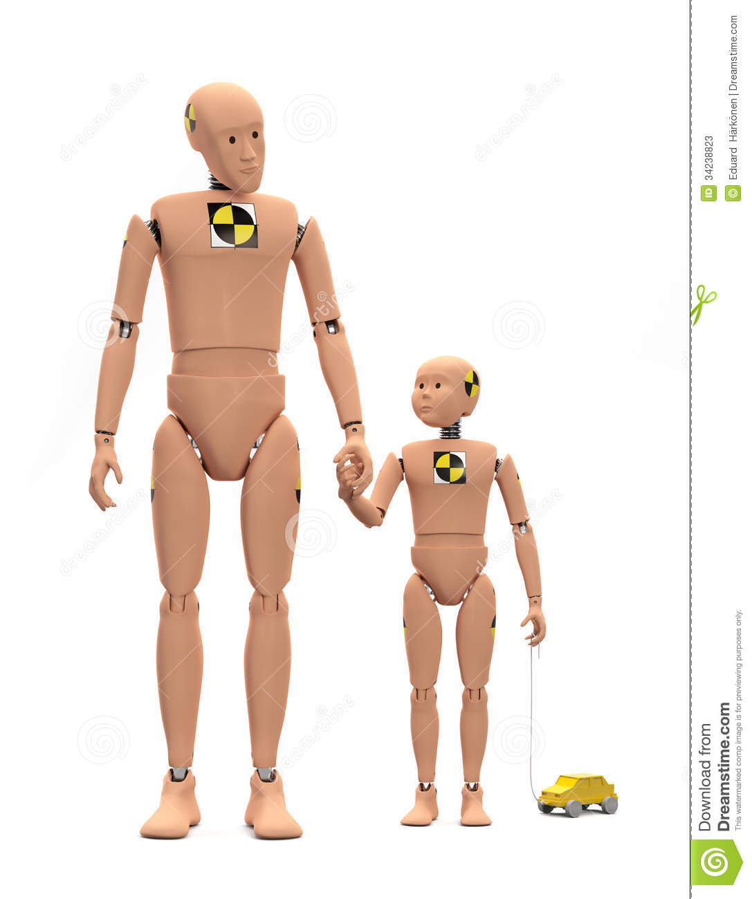 b8a7d1332b5a Crash Test Dummies Isolated Stock Image - Image of plastic ...