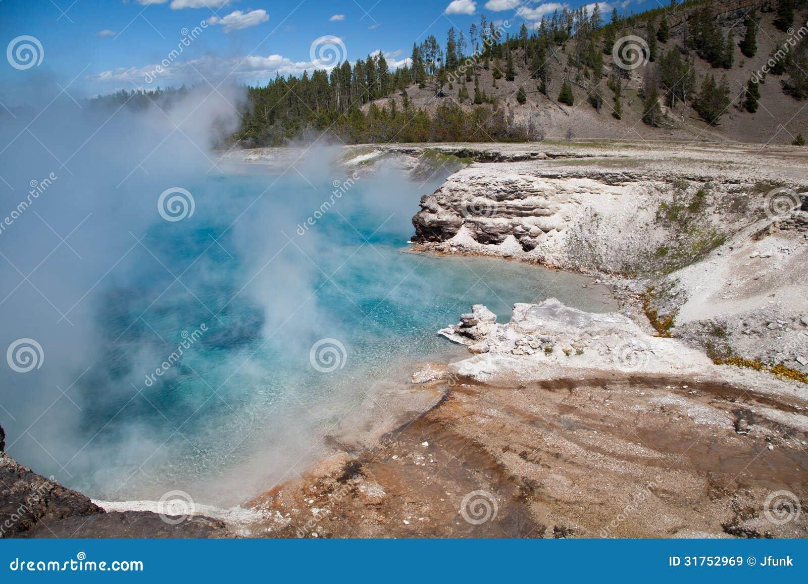 Cratère excelsior de geyser, Yellowstone