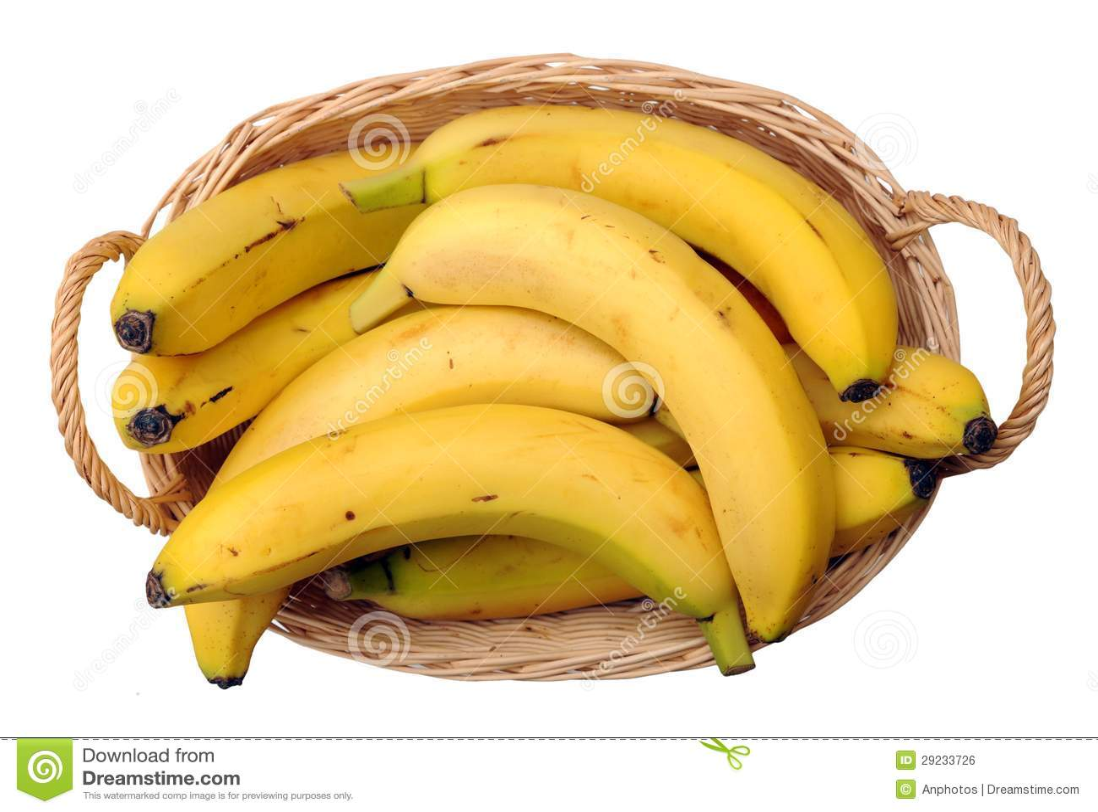 A Crate Of Banana Royalty Free Stock Image Image 29233726