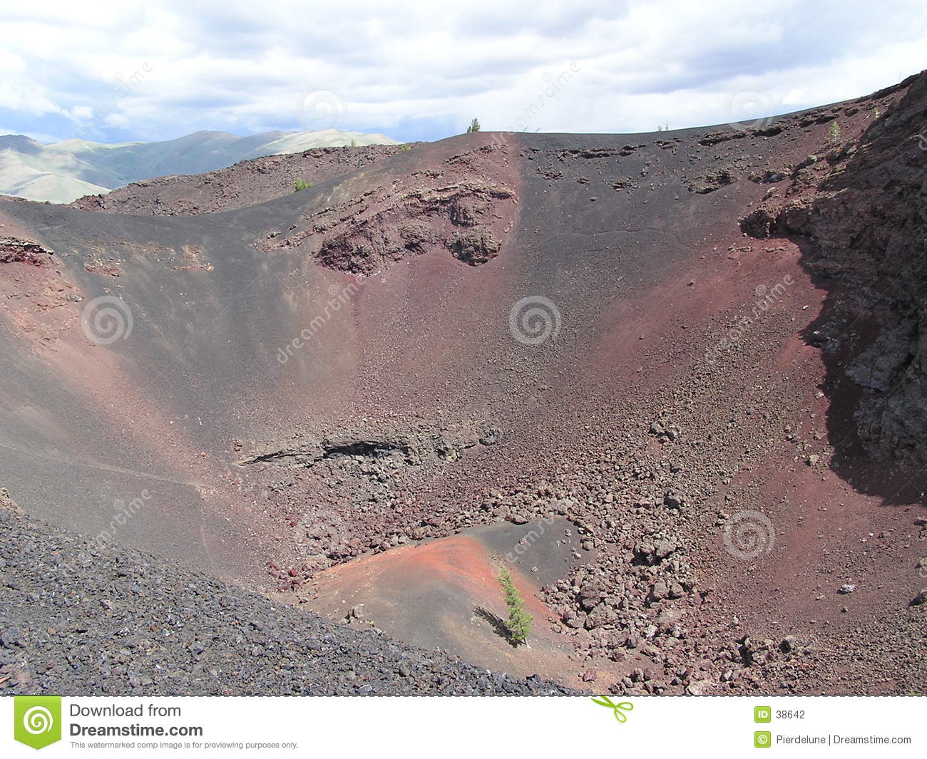 Crater view - Idaho