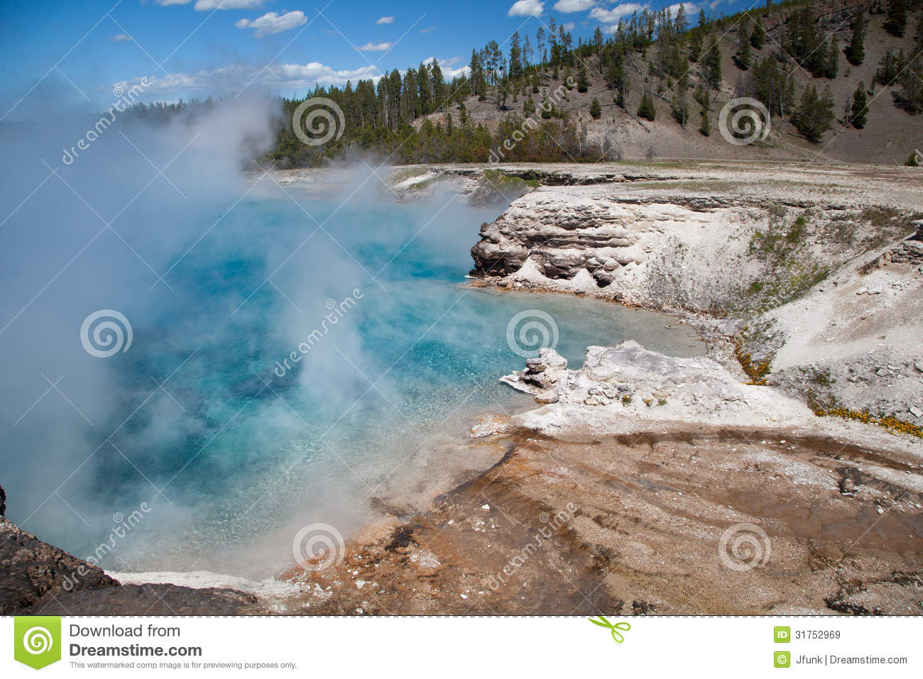 Cratera excelsior do geyser, Yellowstone