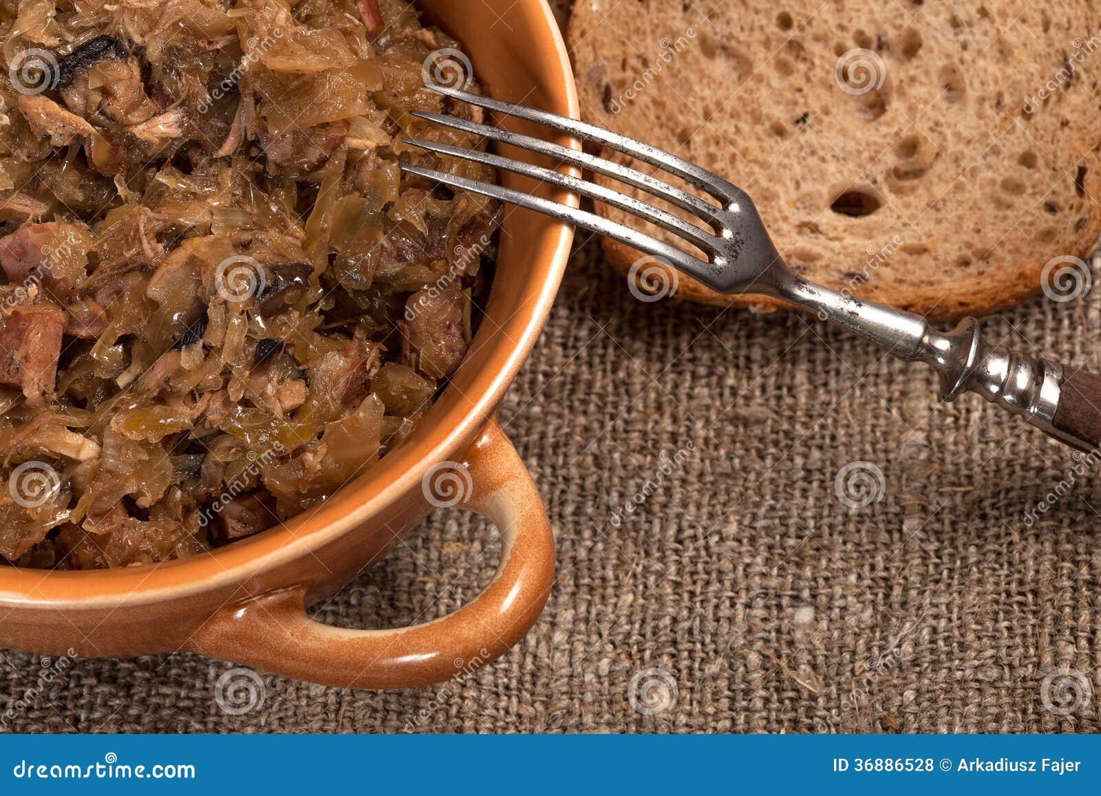Download Crauti Polacchi Tradizionali. Fotografia Stock - Immagine di squisito, piatto: 36886528