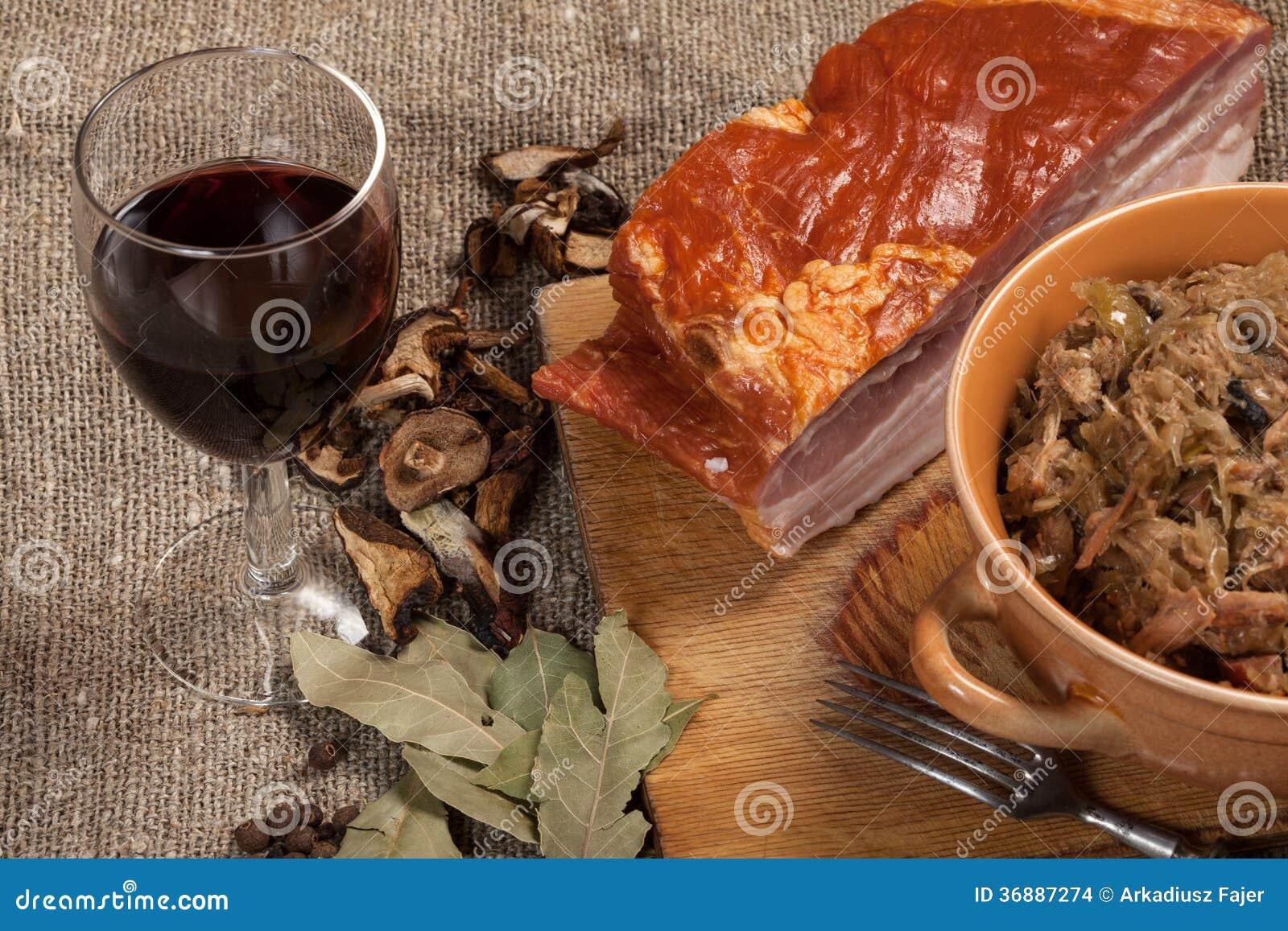 Download Crauti Polacchi Tradizionali. Fotografia Stock - Immagine di tabella, piastra: 36887274