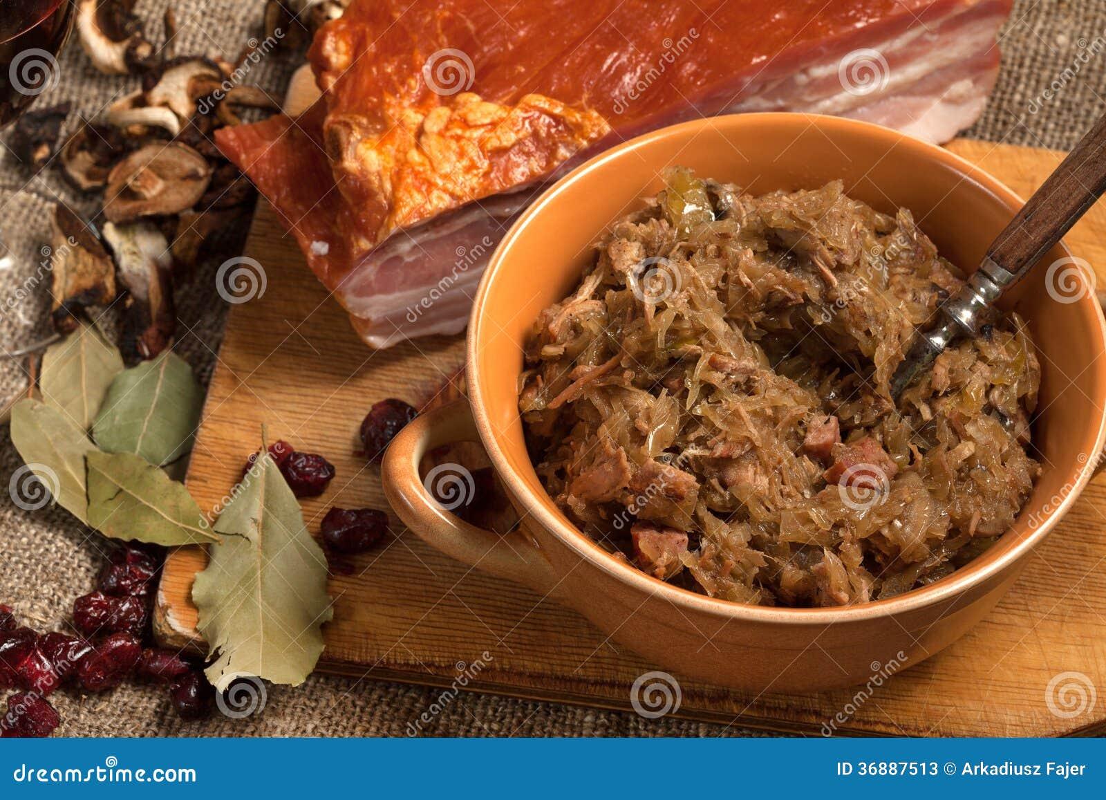 Download Crauti Polacchi Tradizionali. Immagine Stock - Immagine di tabella, carne: 36887513