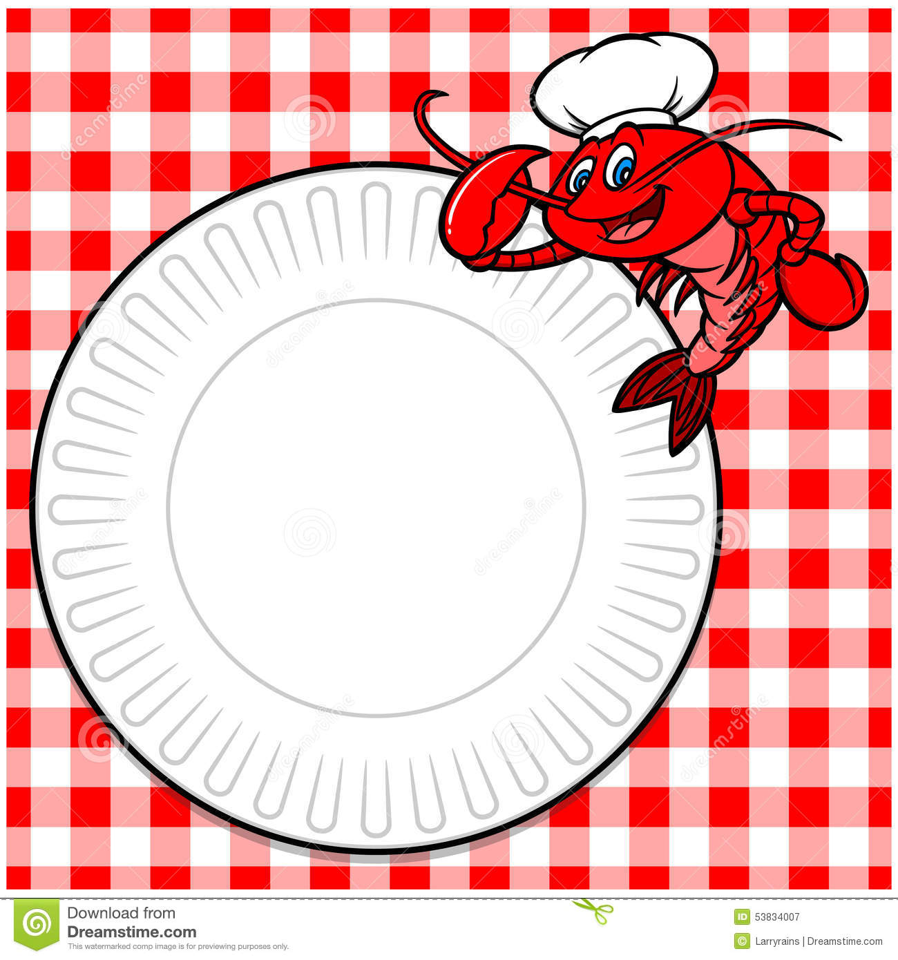 crawfish cookout invite stock vector illustration of lobster 53834007