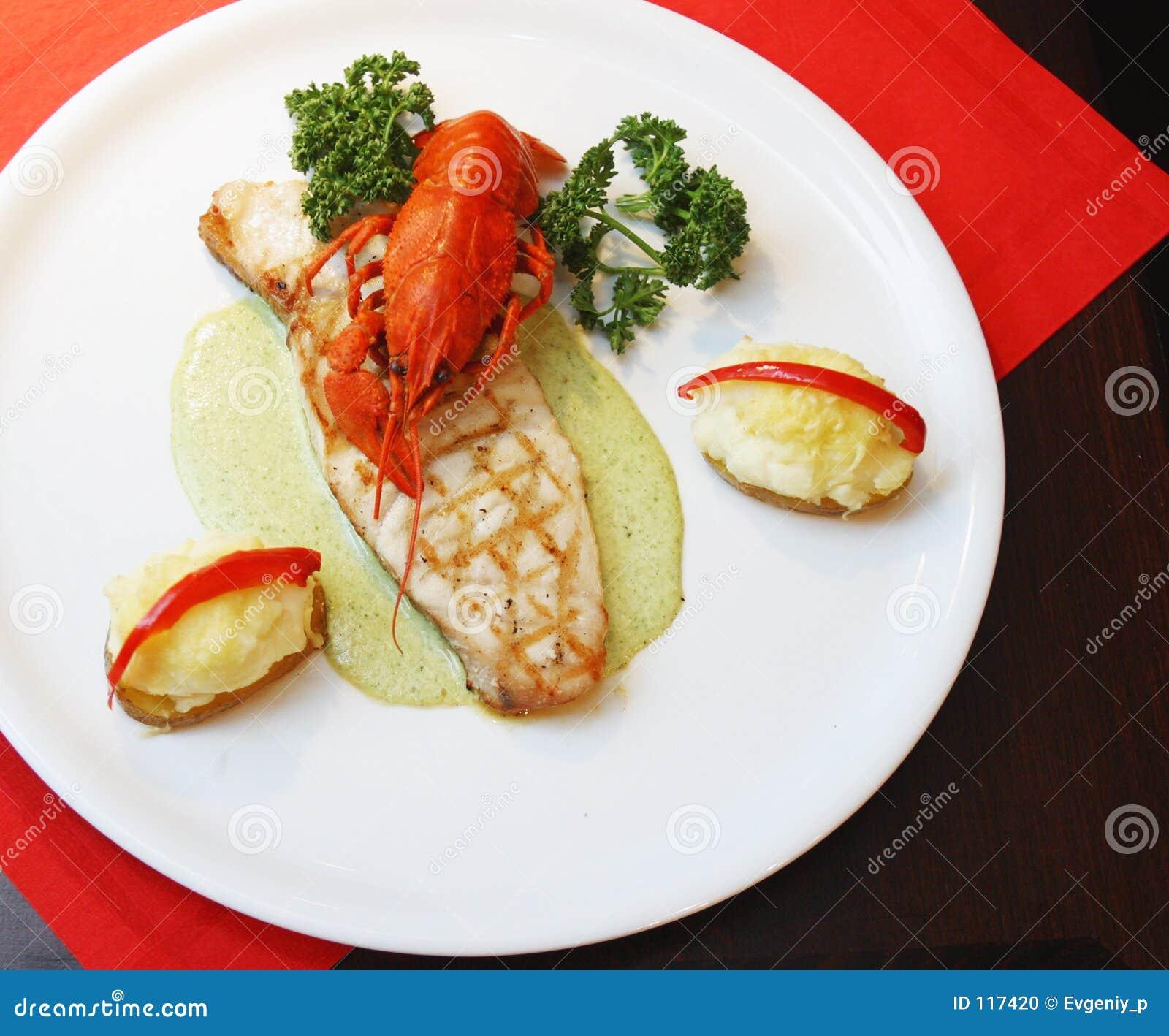 Crawfish , crayfish