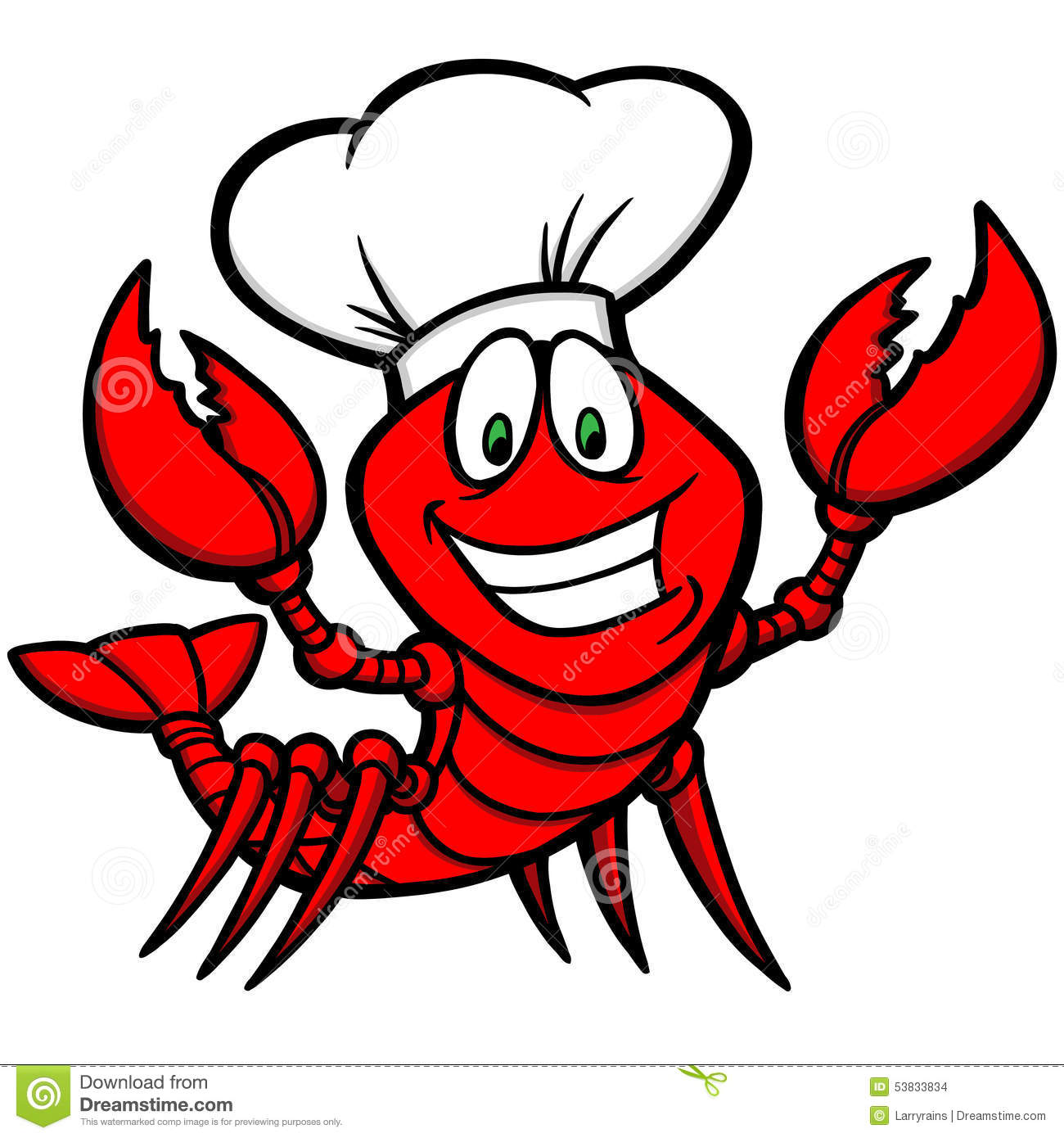 Crawfish Supper stock vector. Image of lobster, holidays - 53833834