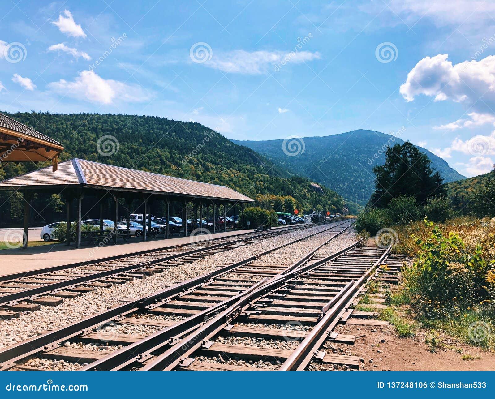 Crawford Depot i New Hampshire