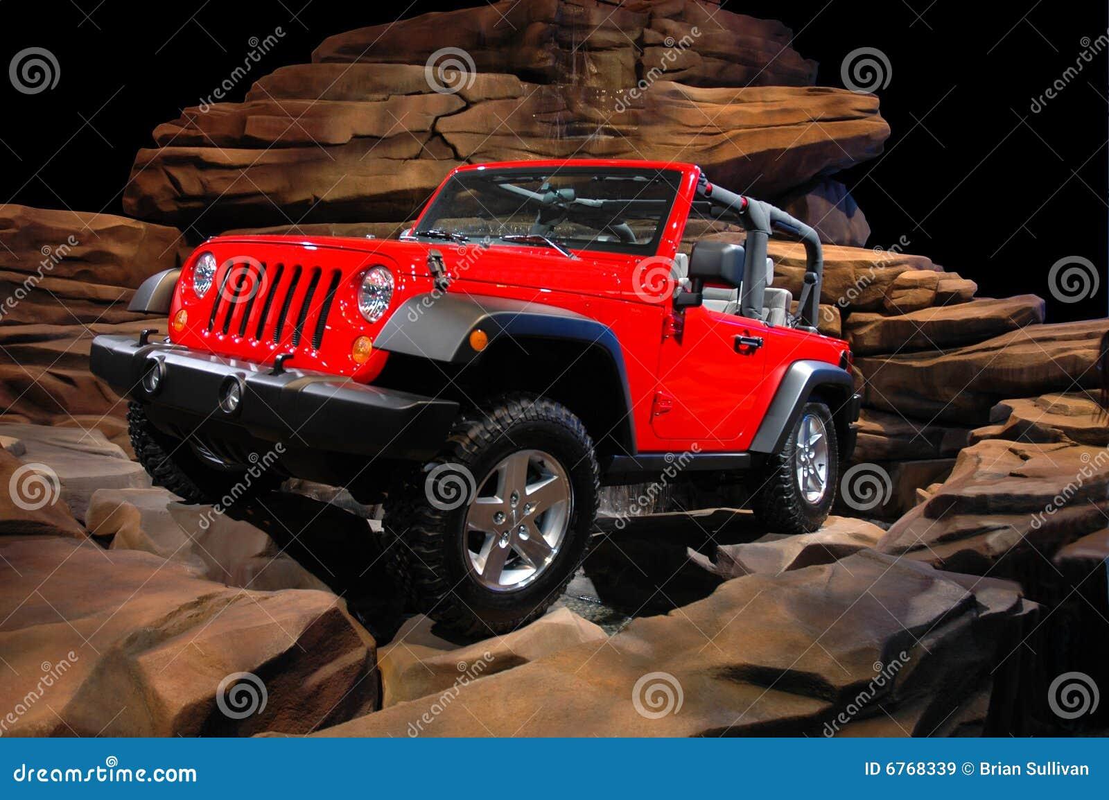 Crawl fuori strada della roccia