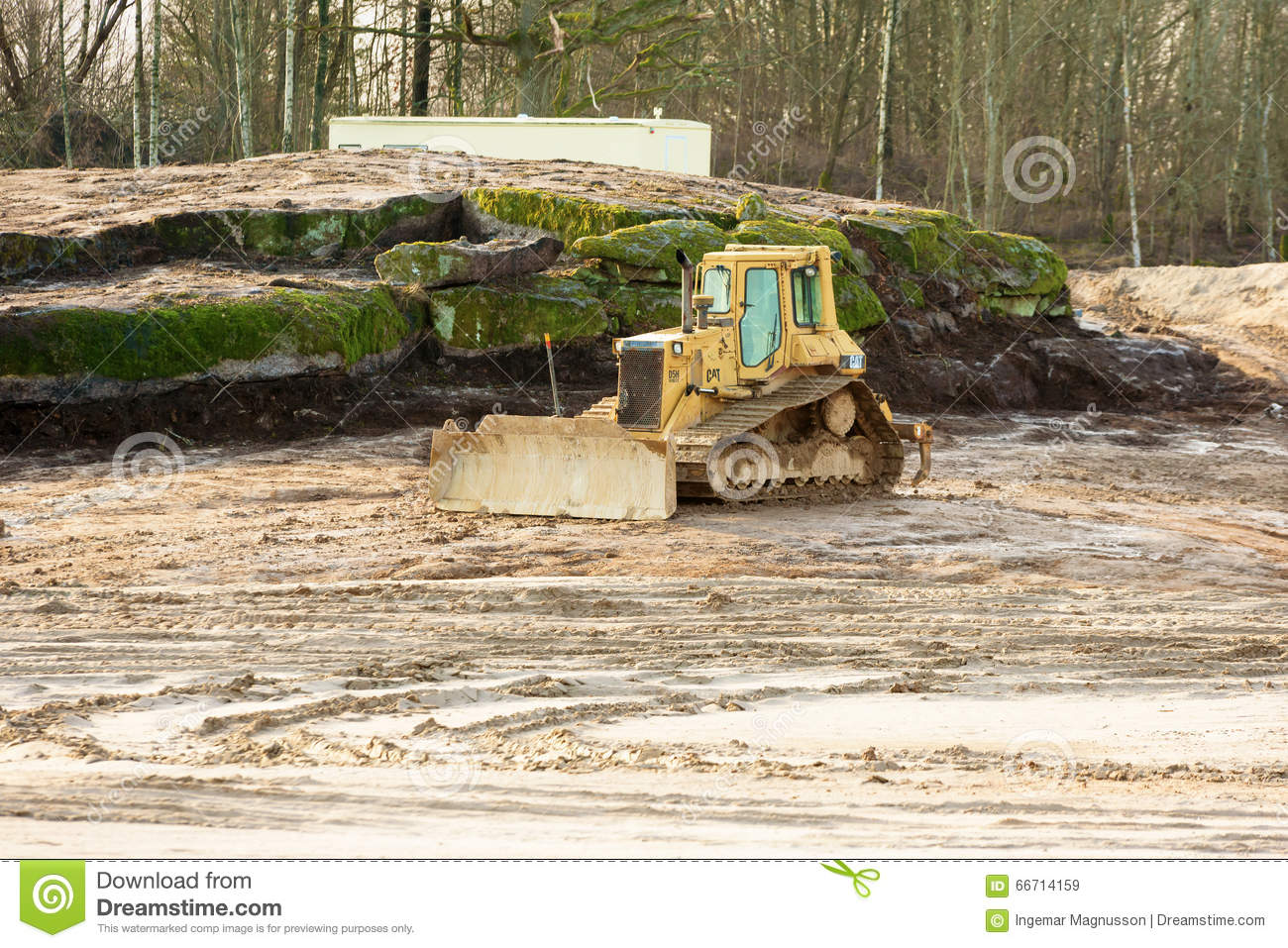 Crawler tractor editorial stock image  Image of outdoor