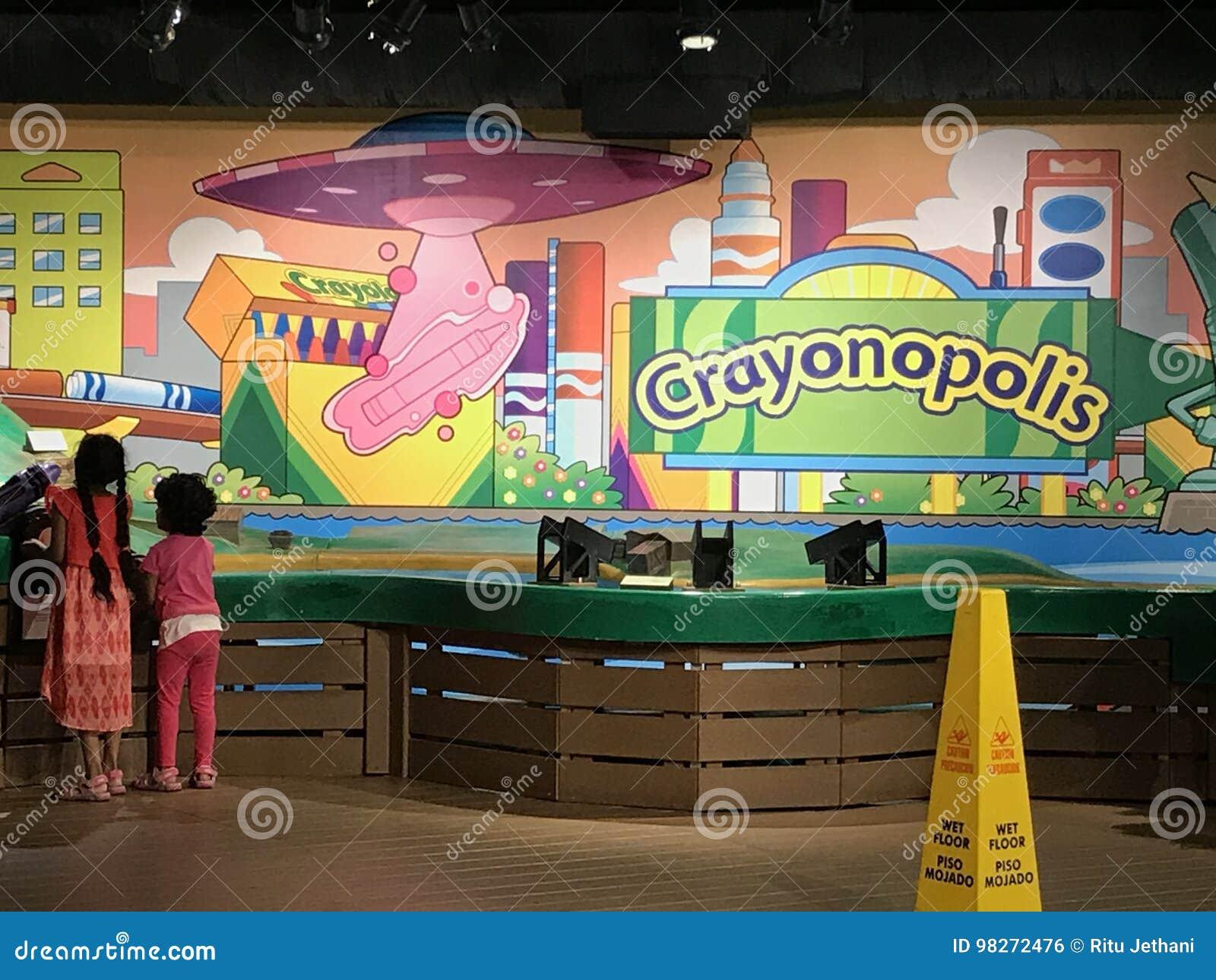 Crayola Experience In Easton, Pennsylvania Editorial Photo