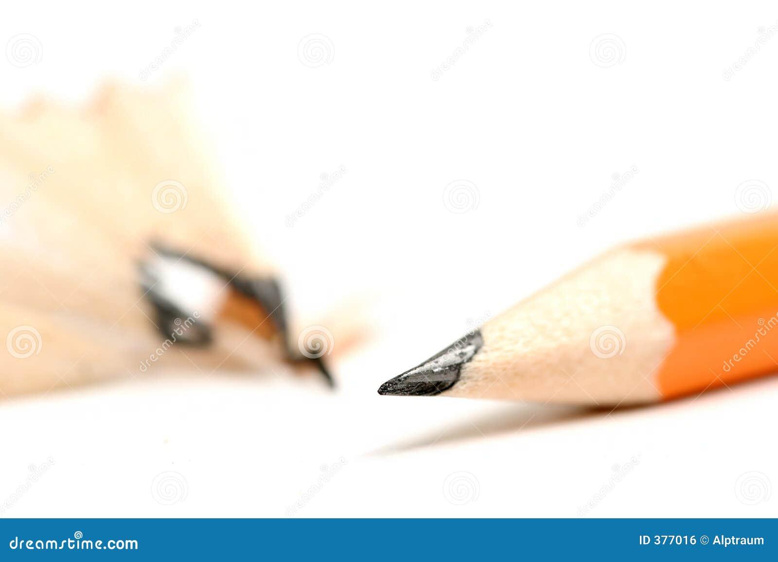 Crayon affilé