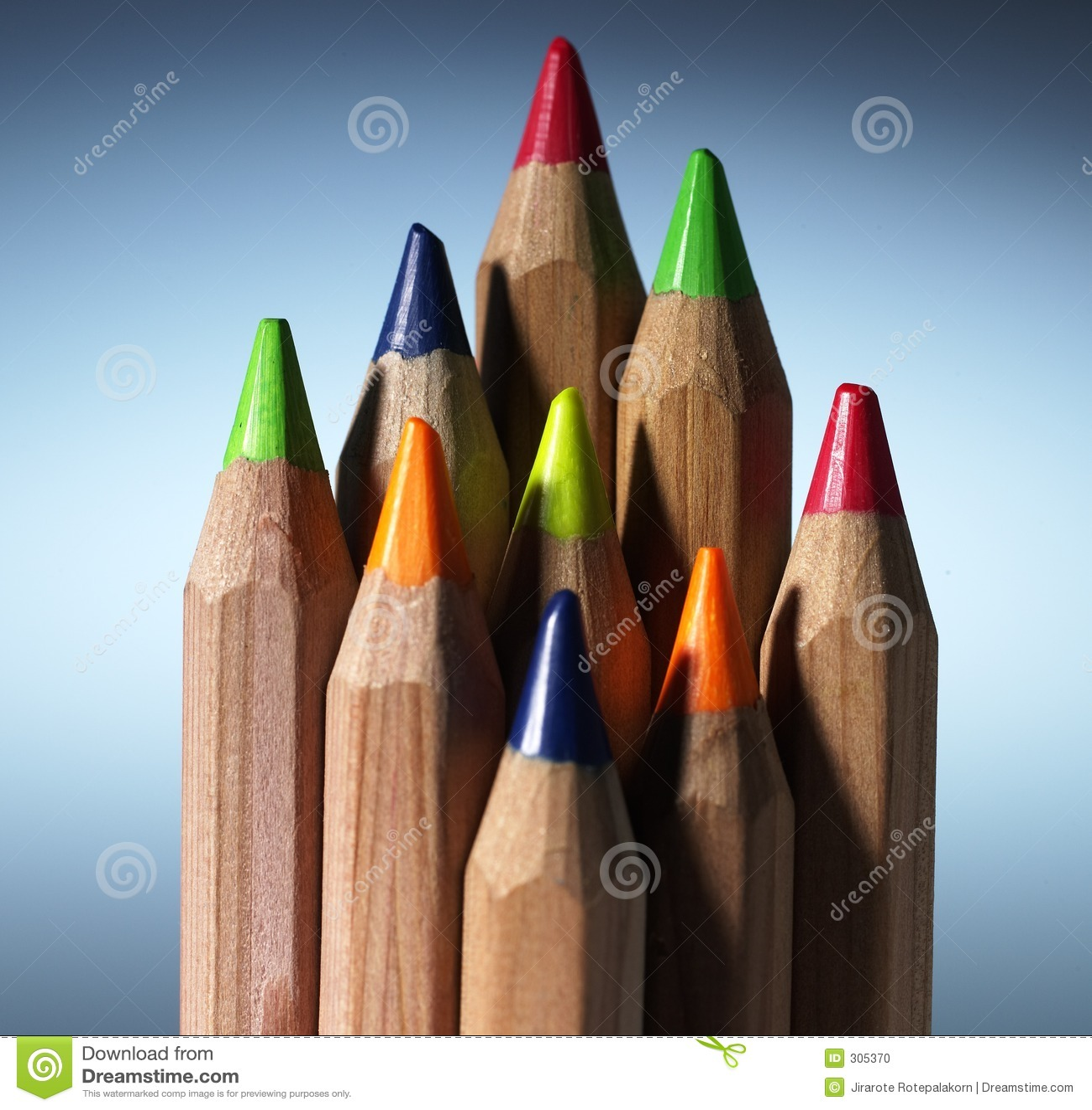 Crayon de couleur