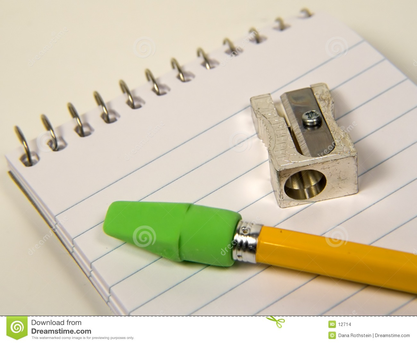 Crayon et affûteuse