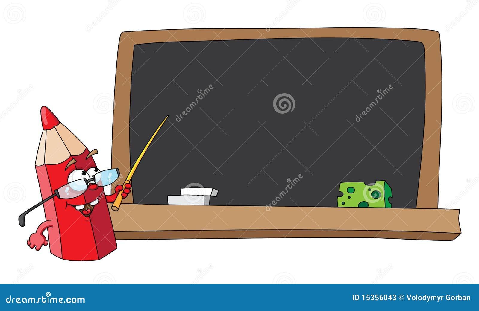 crayon et tableau noir d 39 cole photos stock image 15356043. Black Bedroom Furniture Sets. Home Design Ideas