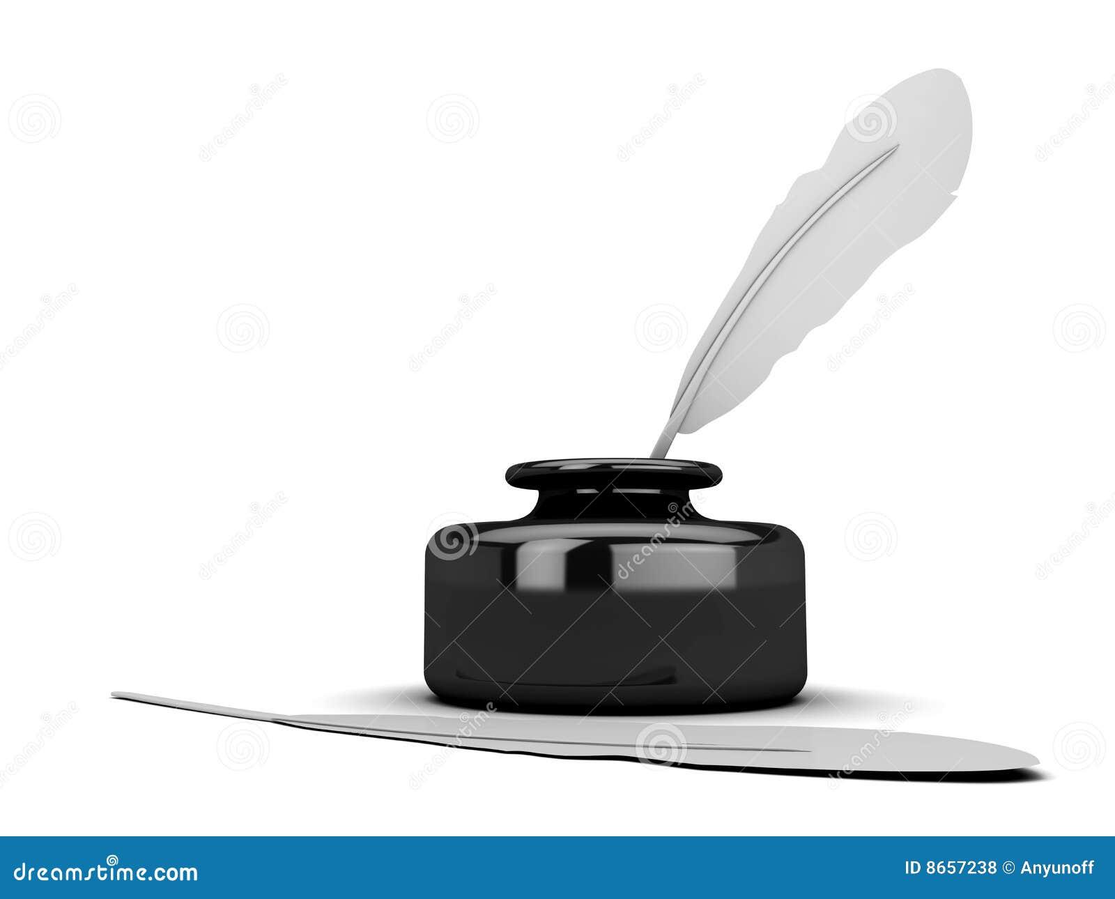Crayon lecteur d encrier encastré