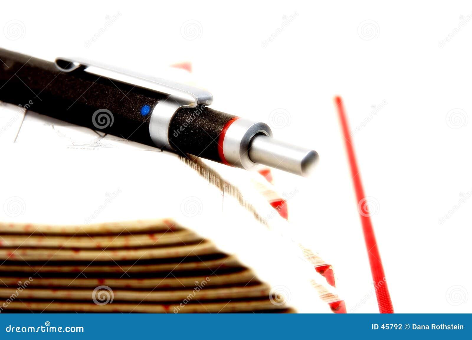 Crayon lecteur sur le bord 2 de livre