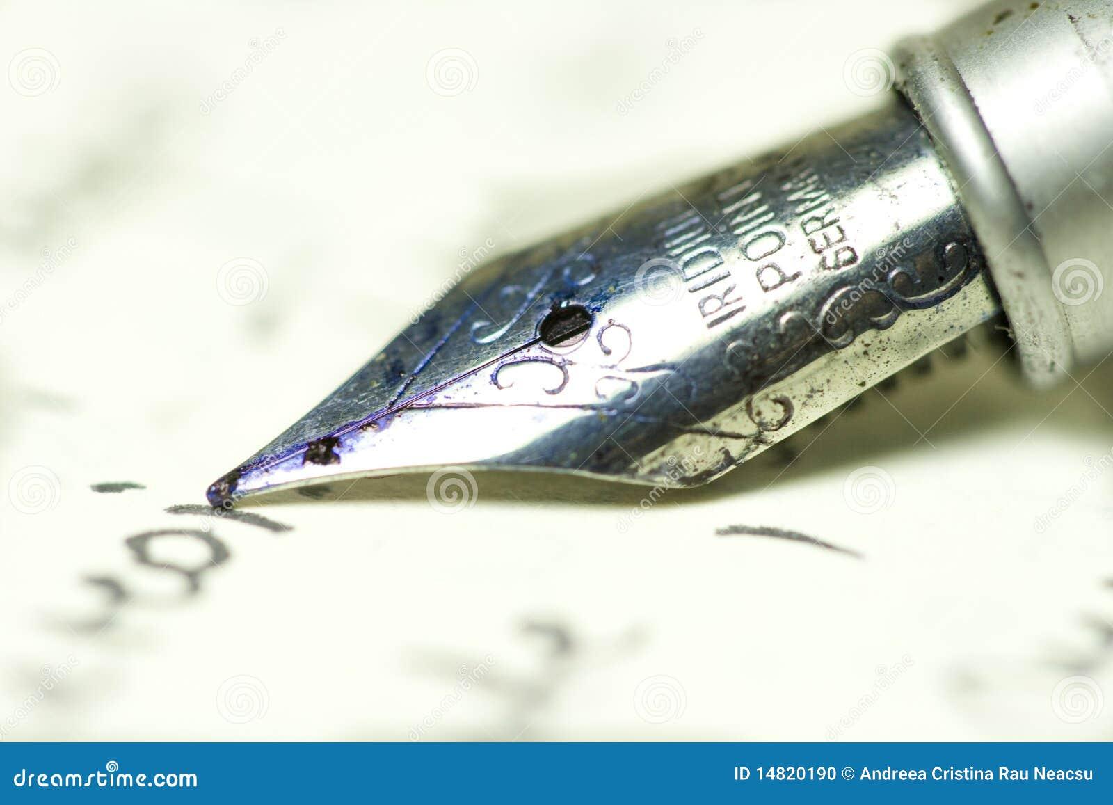 Crayon lecteur sur le papier