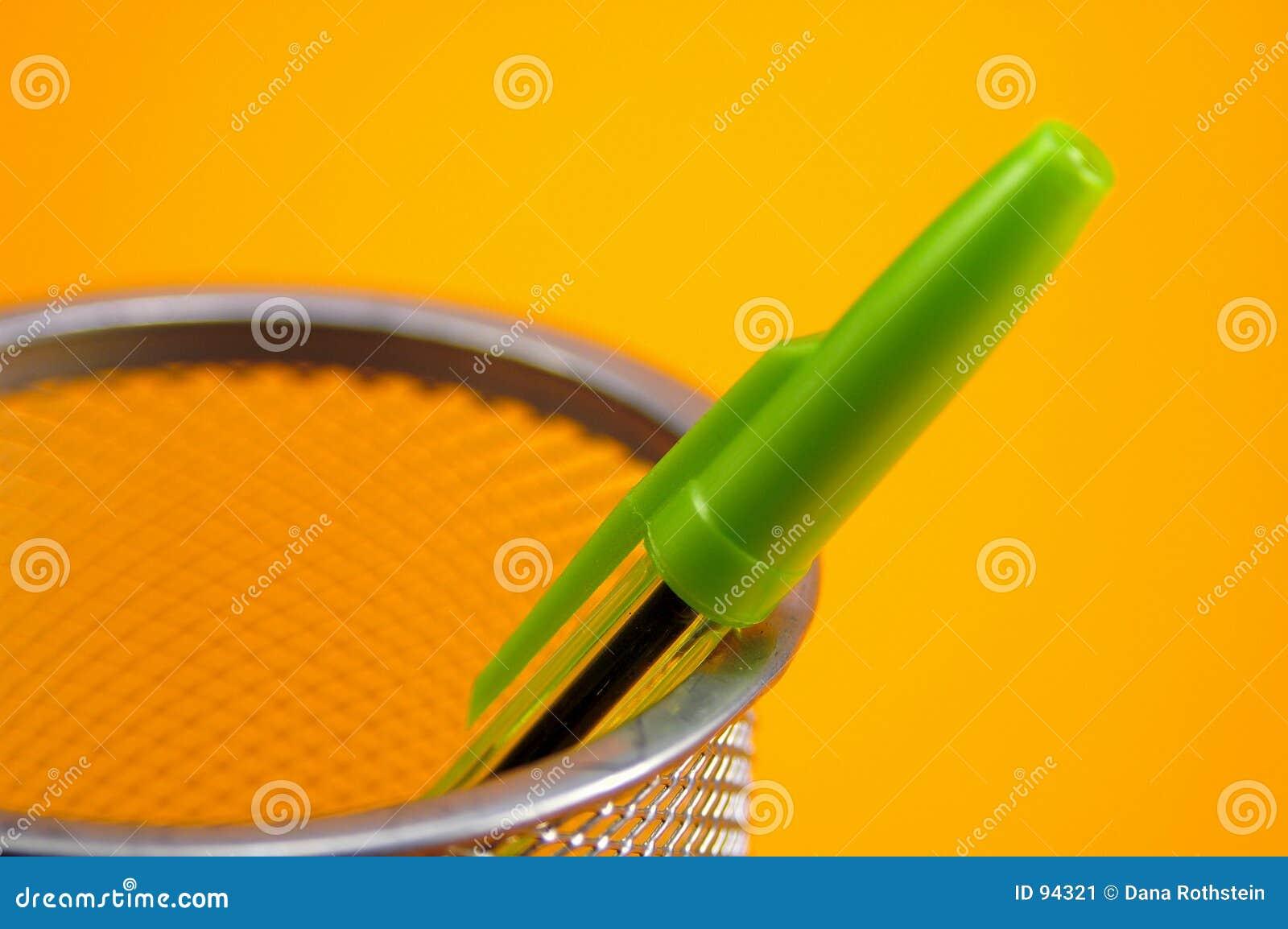 Crayon lecteur vert