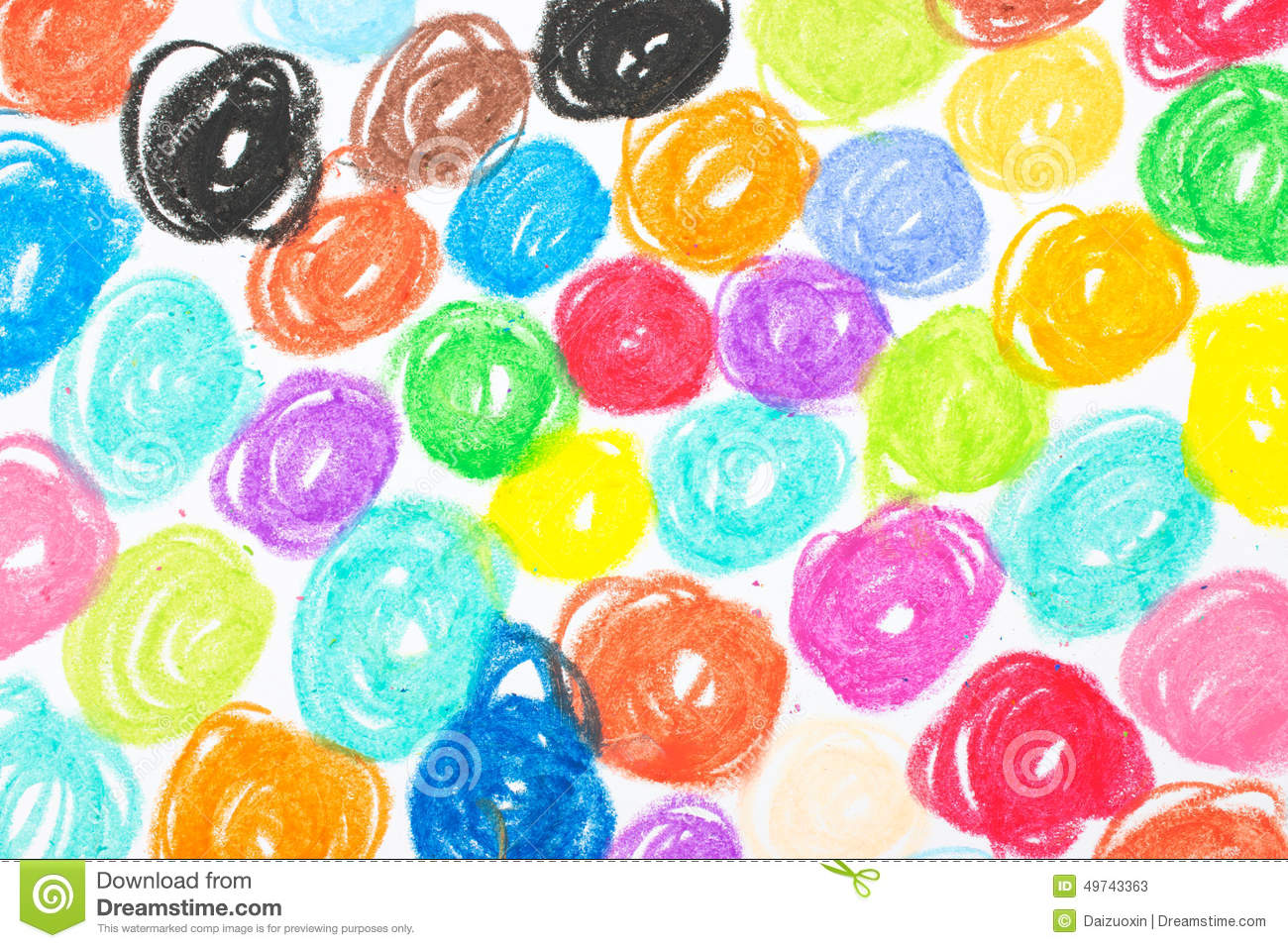 Crayon Scribble Drawing : Crayon scribble background stock photo image