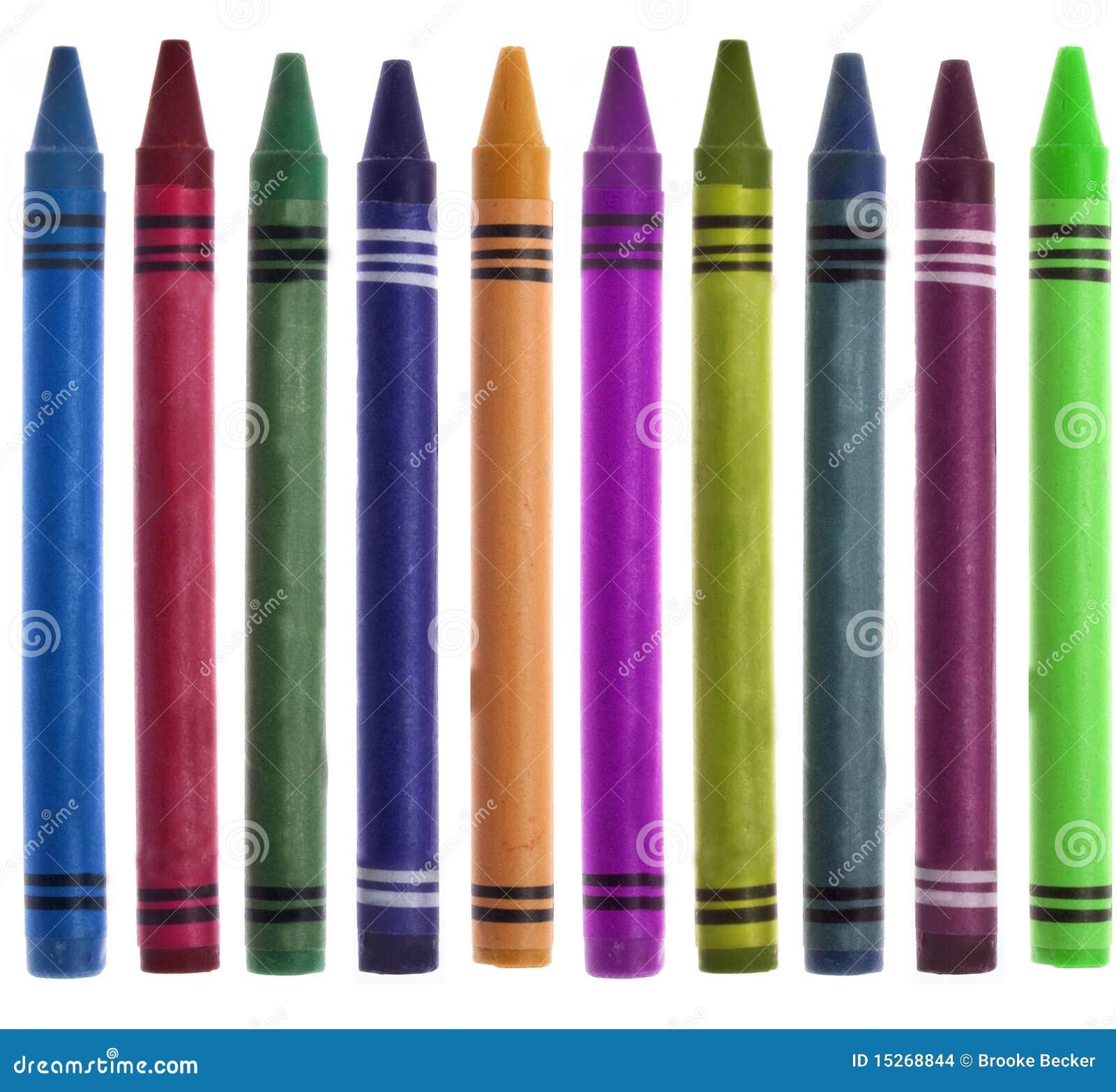 Crayon vibrant de nouveau à l image de cadre d école