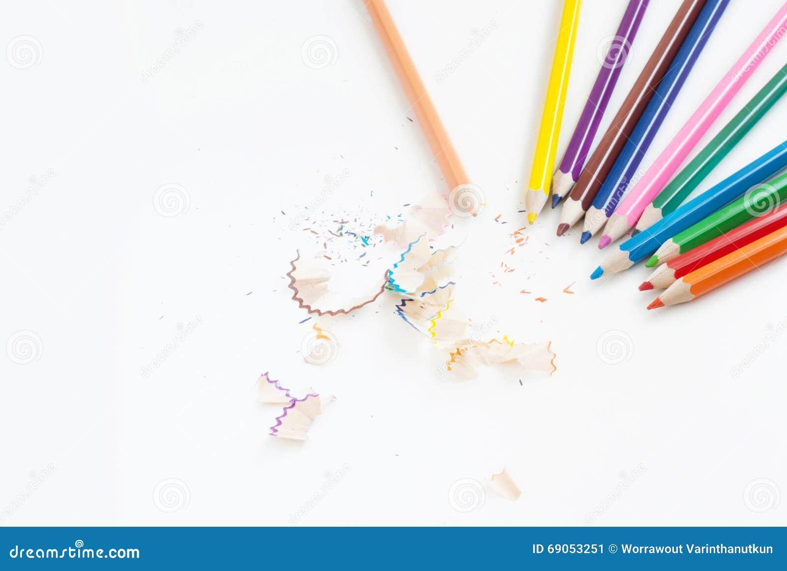 Crayonnez le fond de concept d art de couleur vide pour le texte ou copiez le horiz