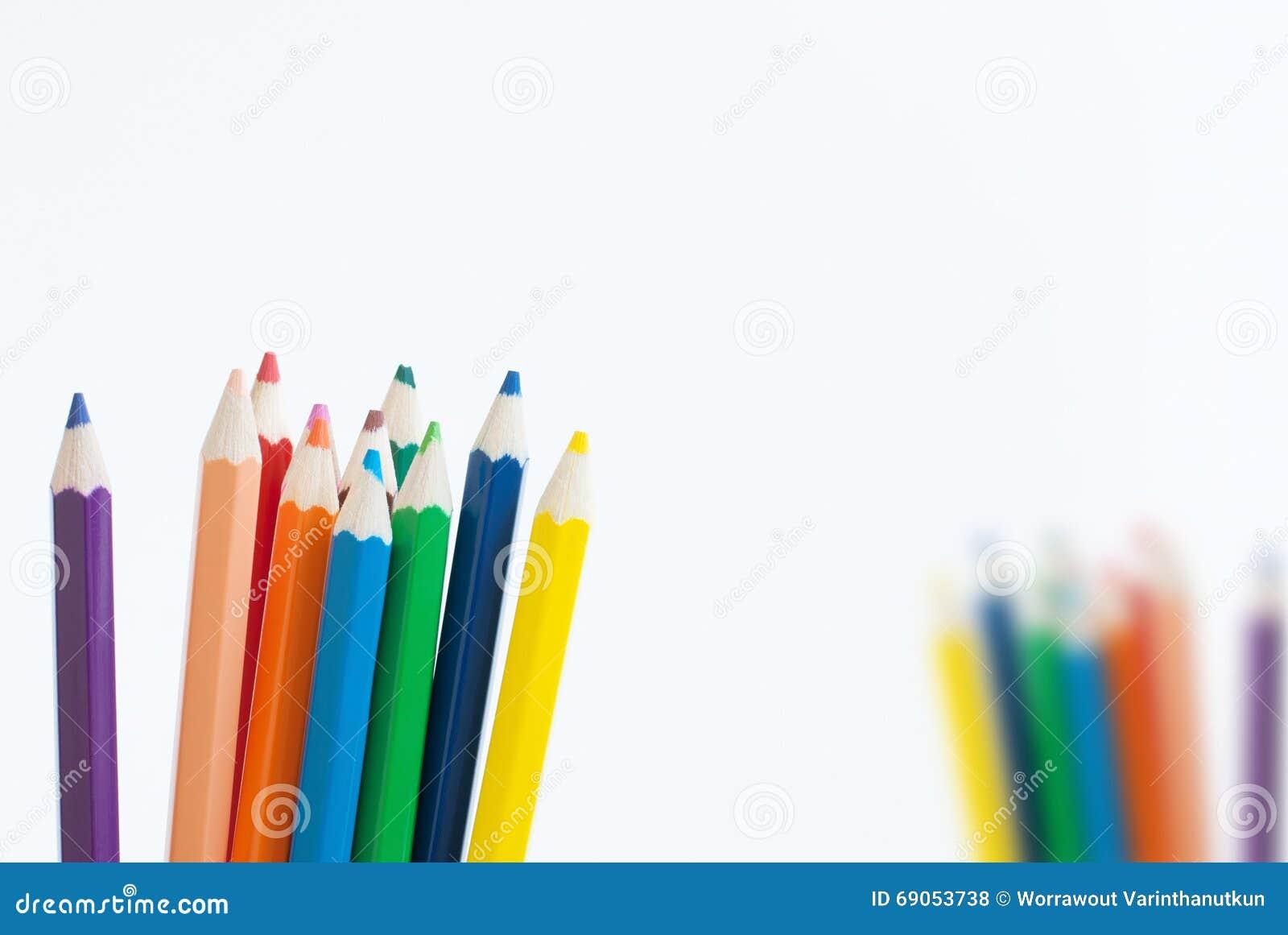 Crayonnez le fond de concept d art de couleur vide pour le texte ou votre copie