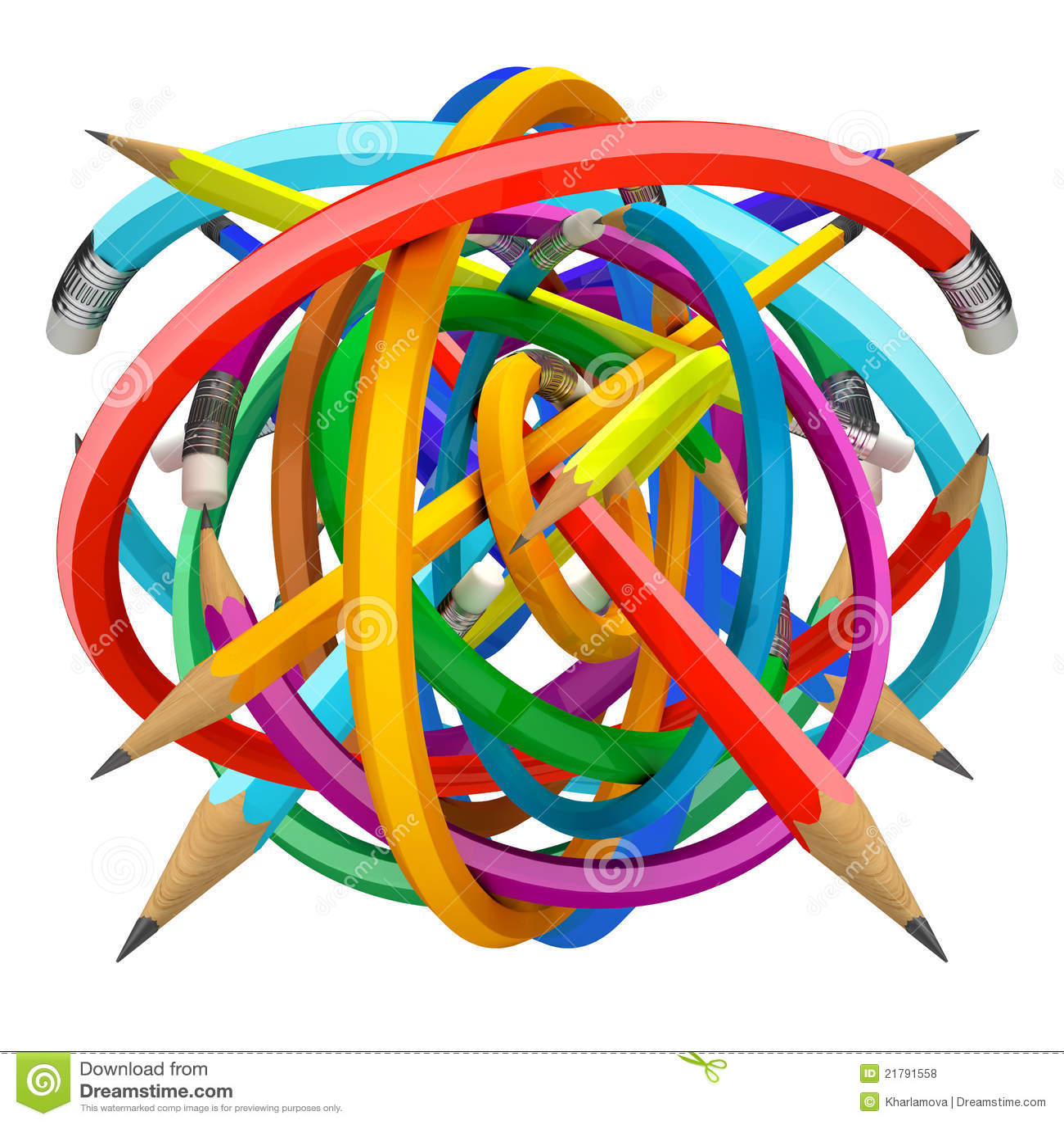 Crayons шарика