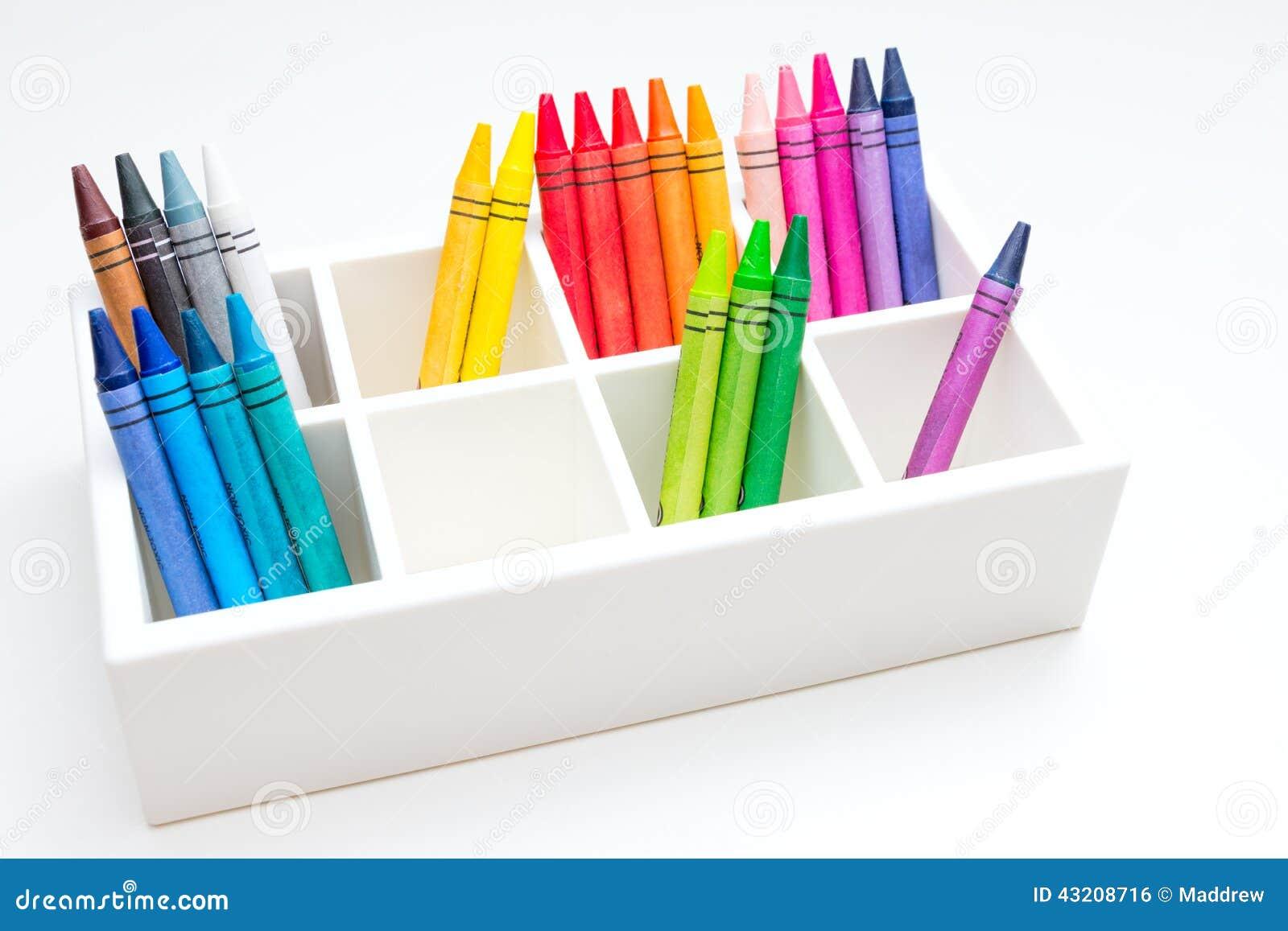 Download Crayons arkivfoto. Bild av skola, färga, färg, dagis - 43208716