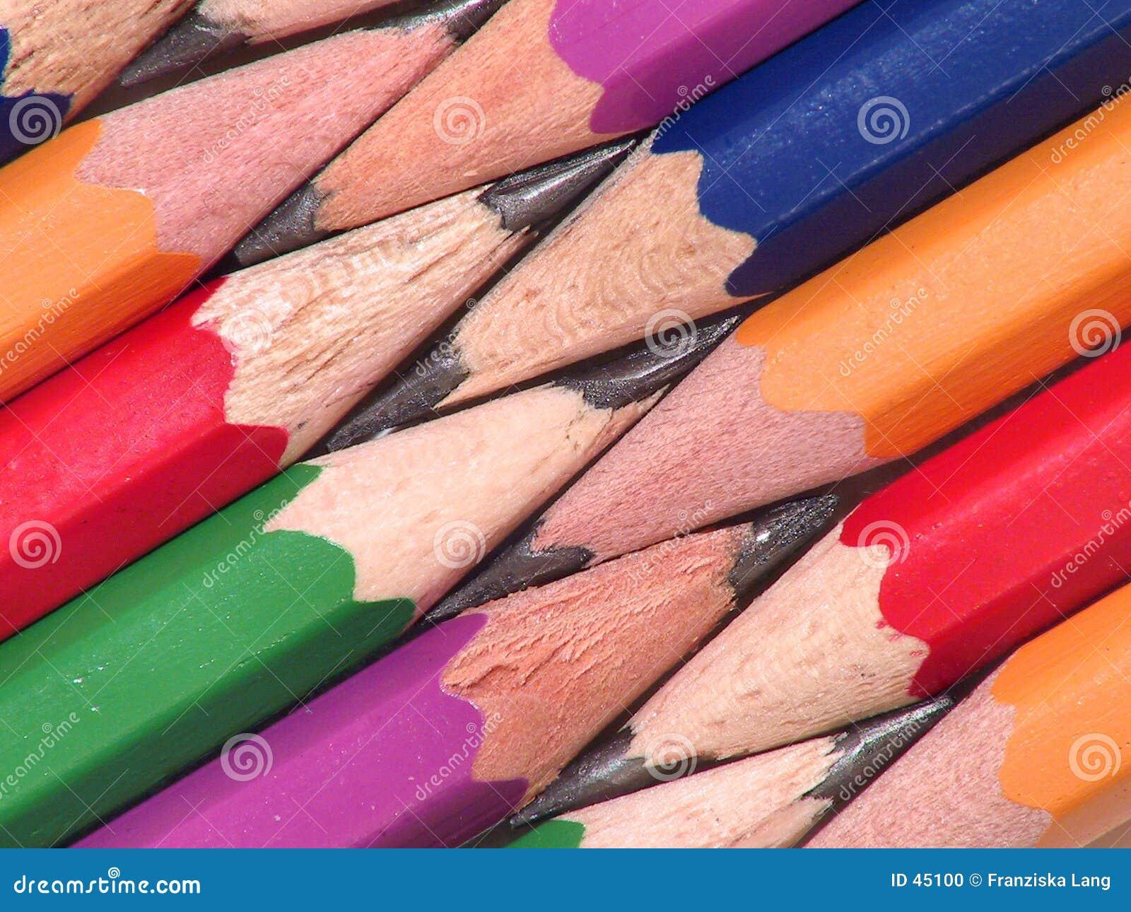 Crayons colorés II