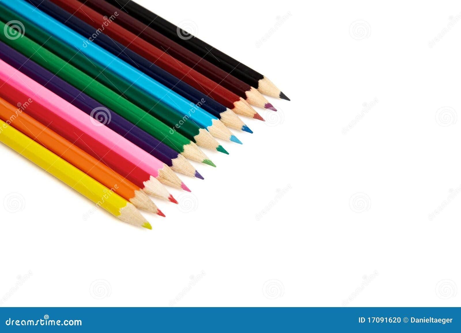 Crayons d arc-en-ciel