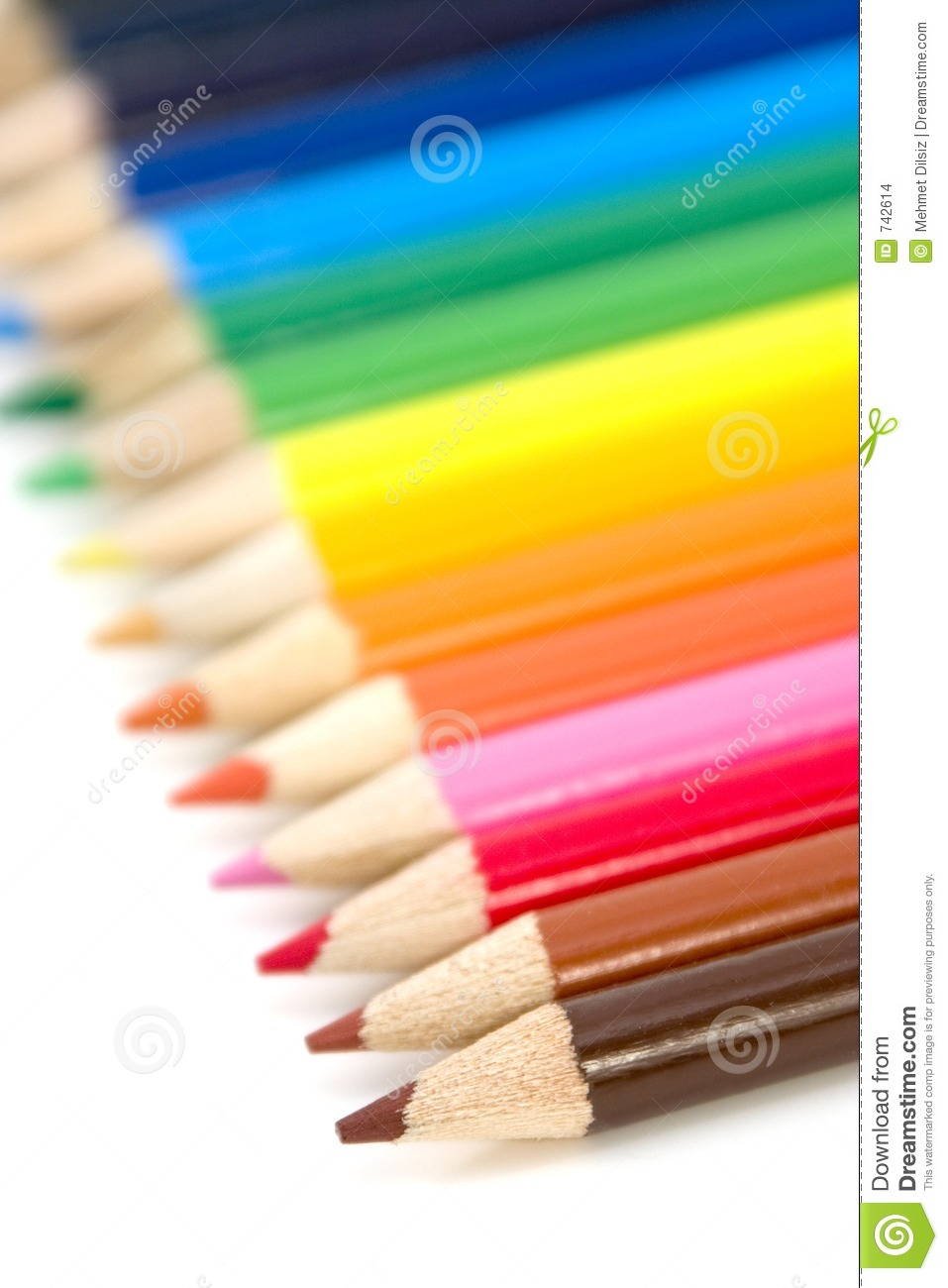 Crayons de coloration