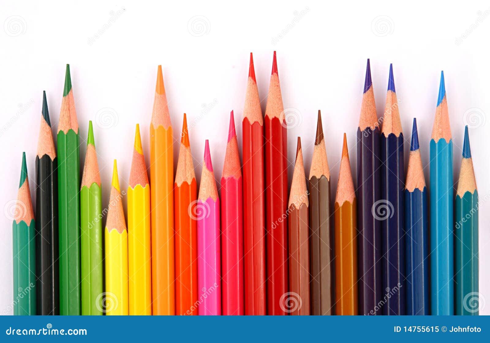 crayons de couleur photo libre de droits image 14755615. Black Bedroom Furniture Sets. Home Design Ideas