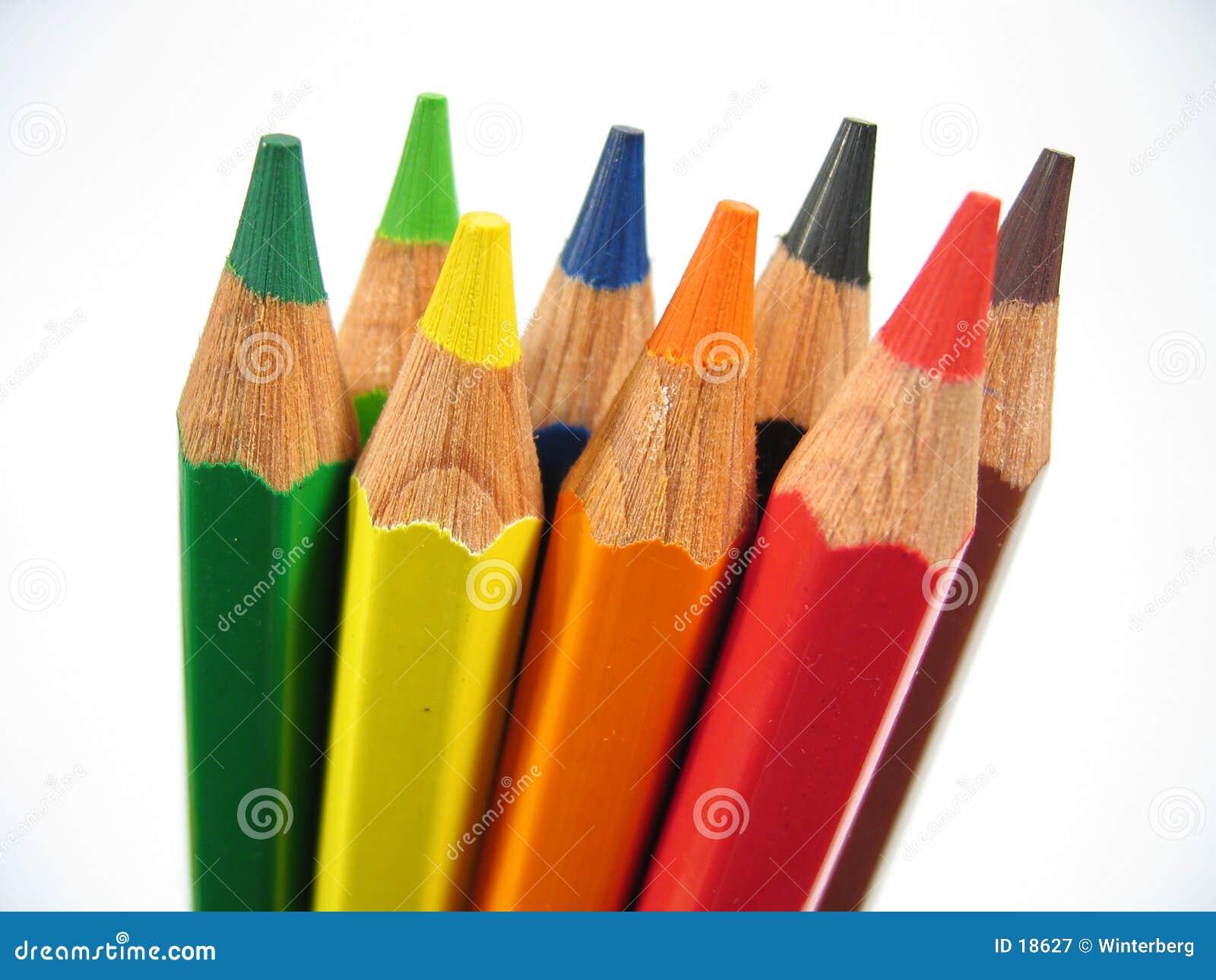 Crayons droits II