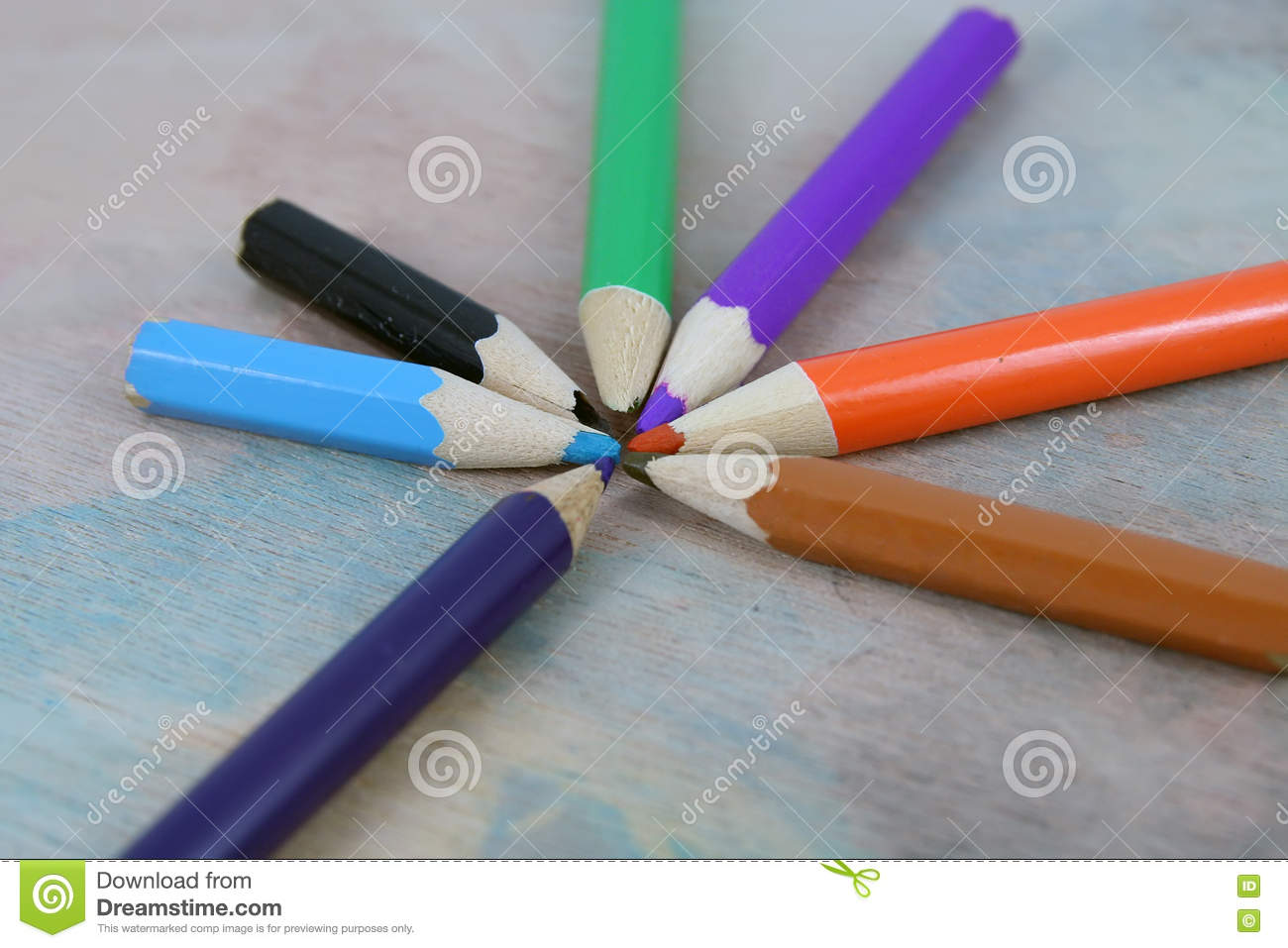 Crayons Stock Photo Image Of Closeup Creativity Draw 81665208