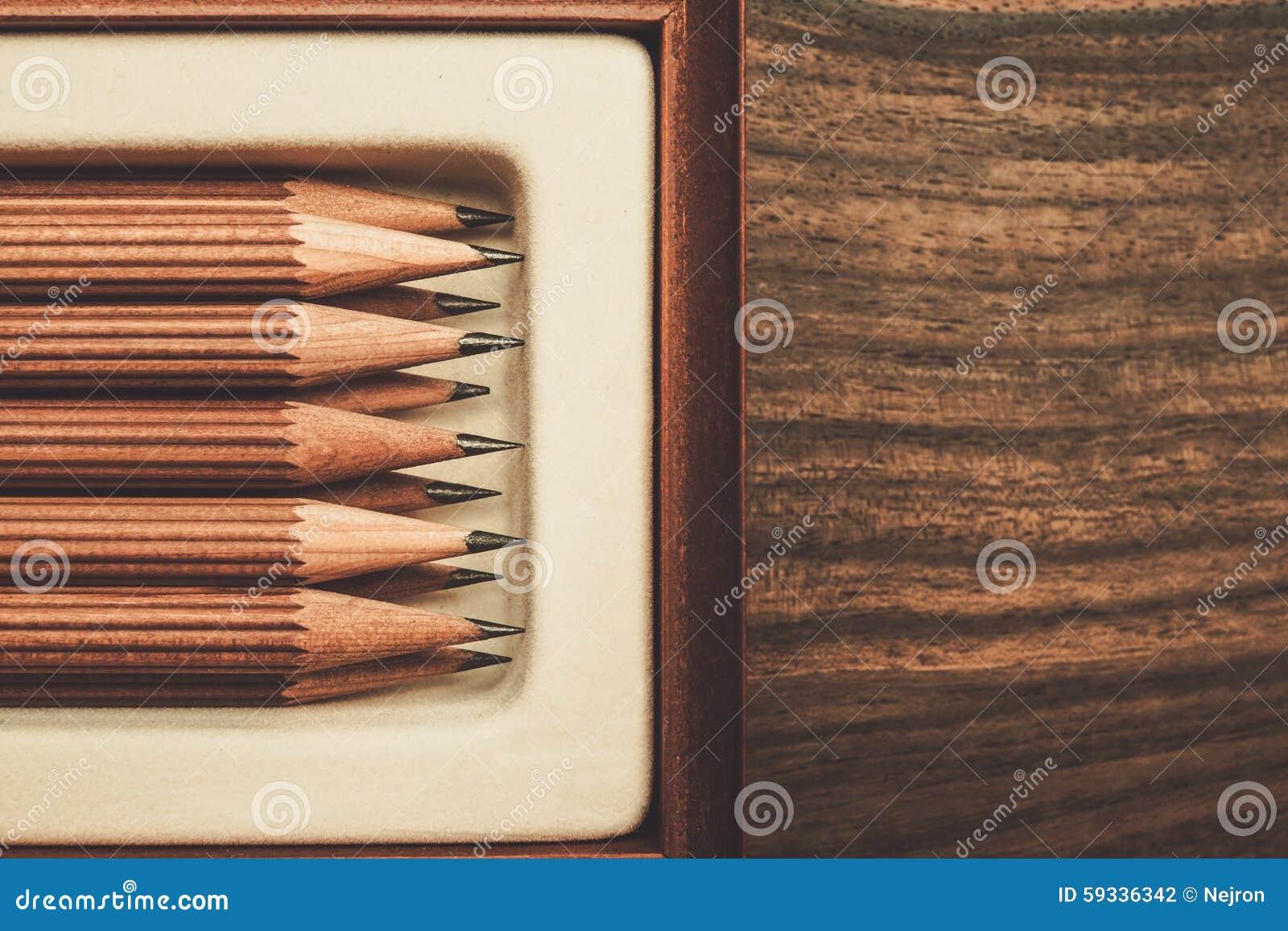 Crayons luxueux de dessin de fusain