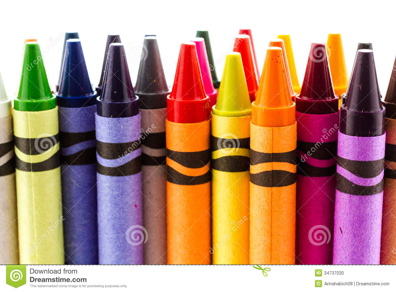 crayons stock photo image of school pastel pile color