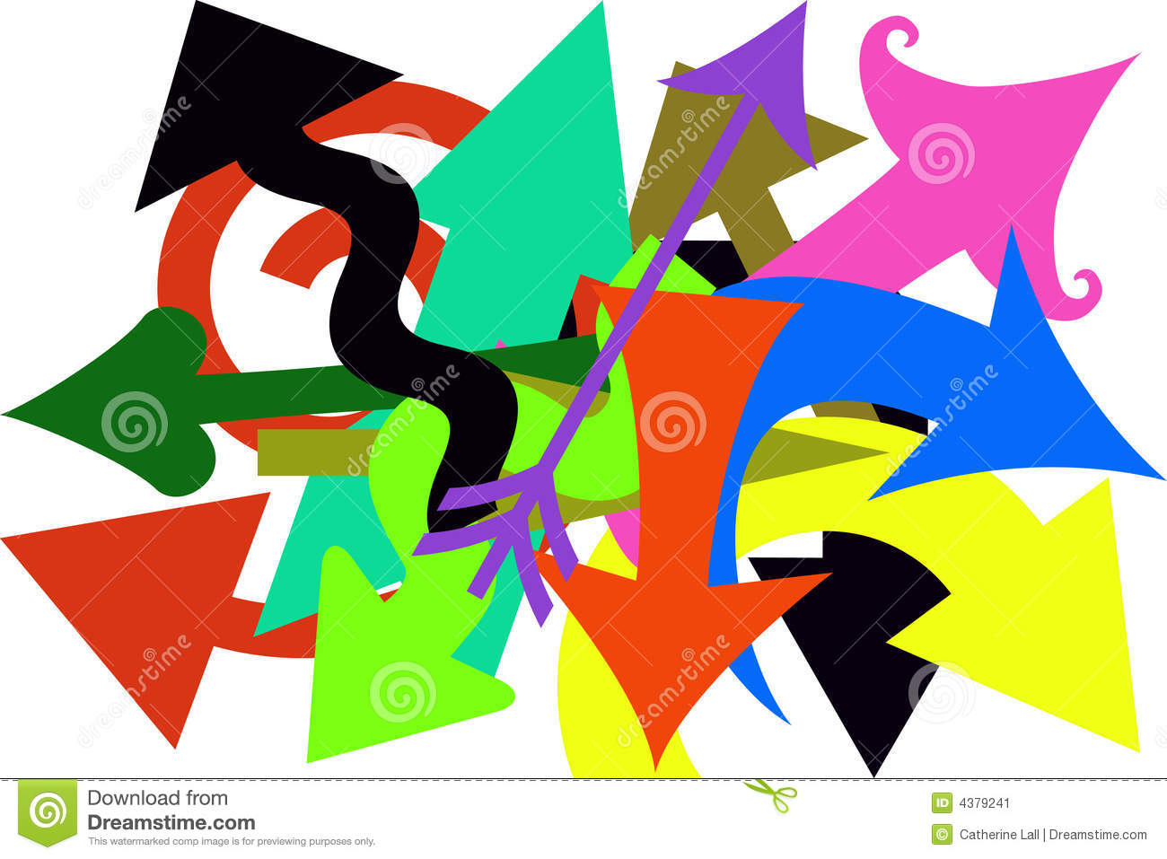 crazy arrows stock image image 4379241 Welcome aboard Clip Art Free Free Welcome Template