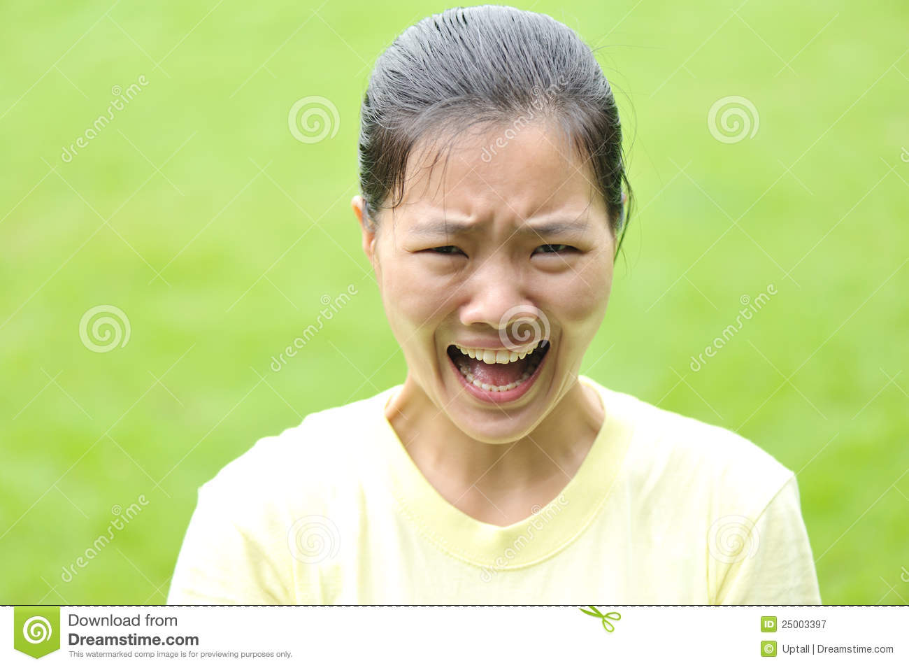 Screaming Asian Woman 46