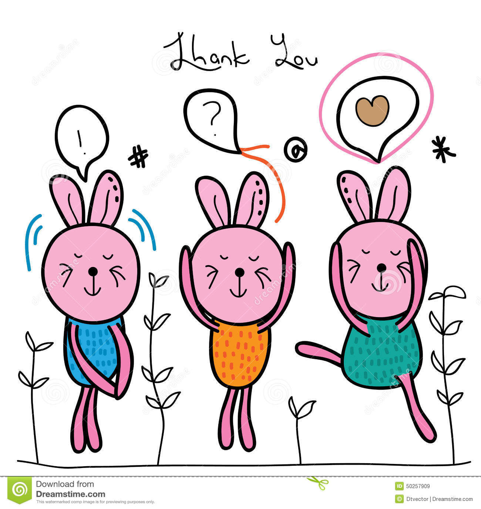 crazy bunny cute stock vector image 50257909