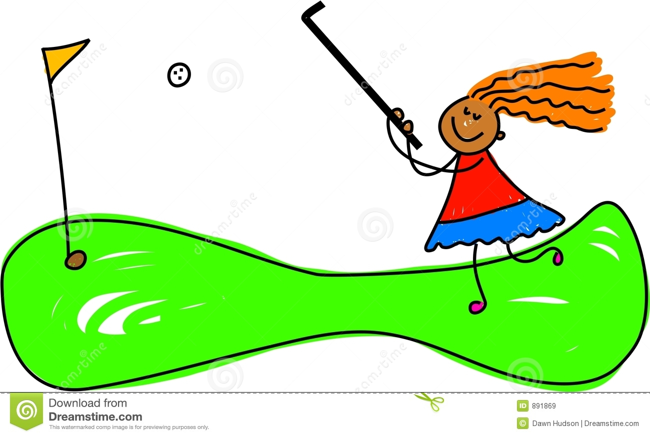 Crazy Golf Kid Royalty Free Stock Images Image 891869
